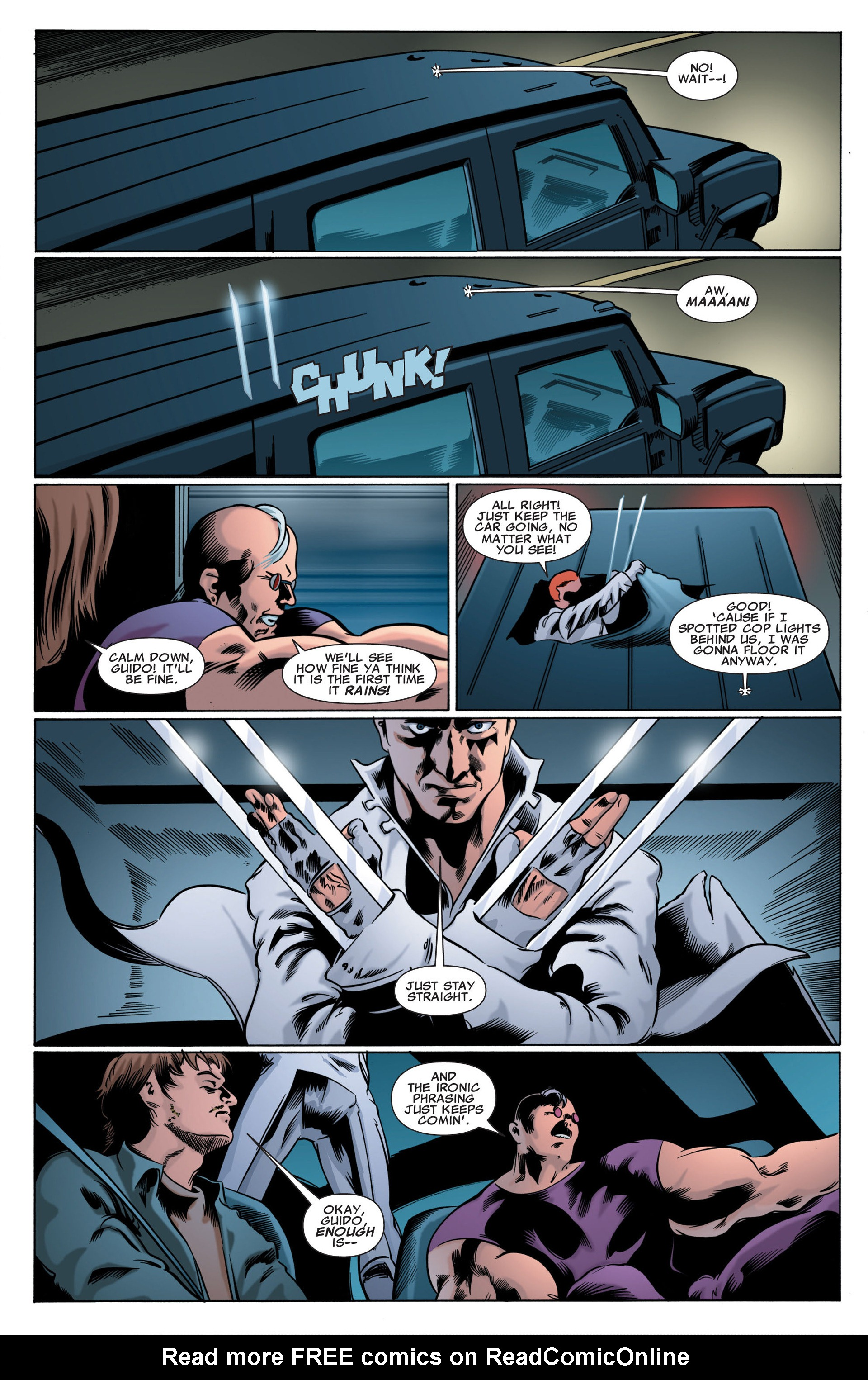 Read online X-Factor (2006) comic -  Issue #49 - 8