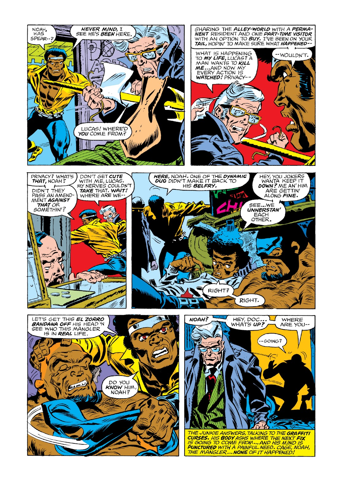 Read online Marvel Masterworks: Luke Cage, Power Man comic -  Issue # TPB 3 (Part 1) - 58