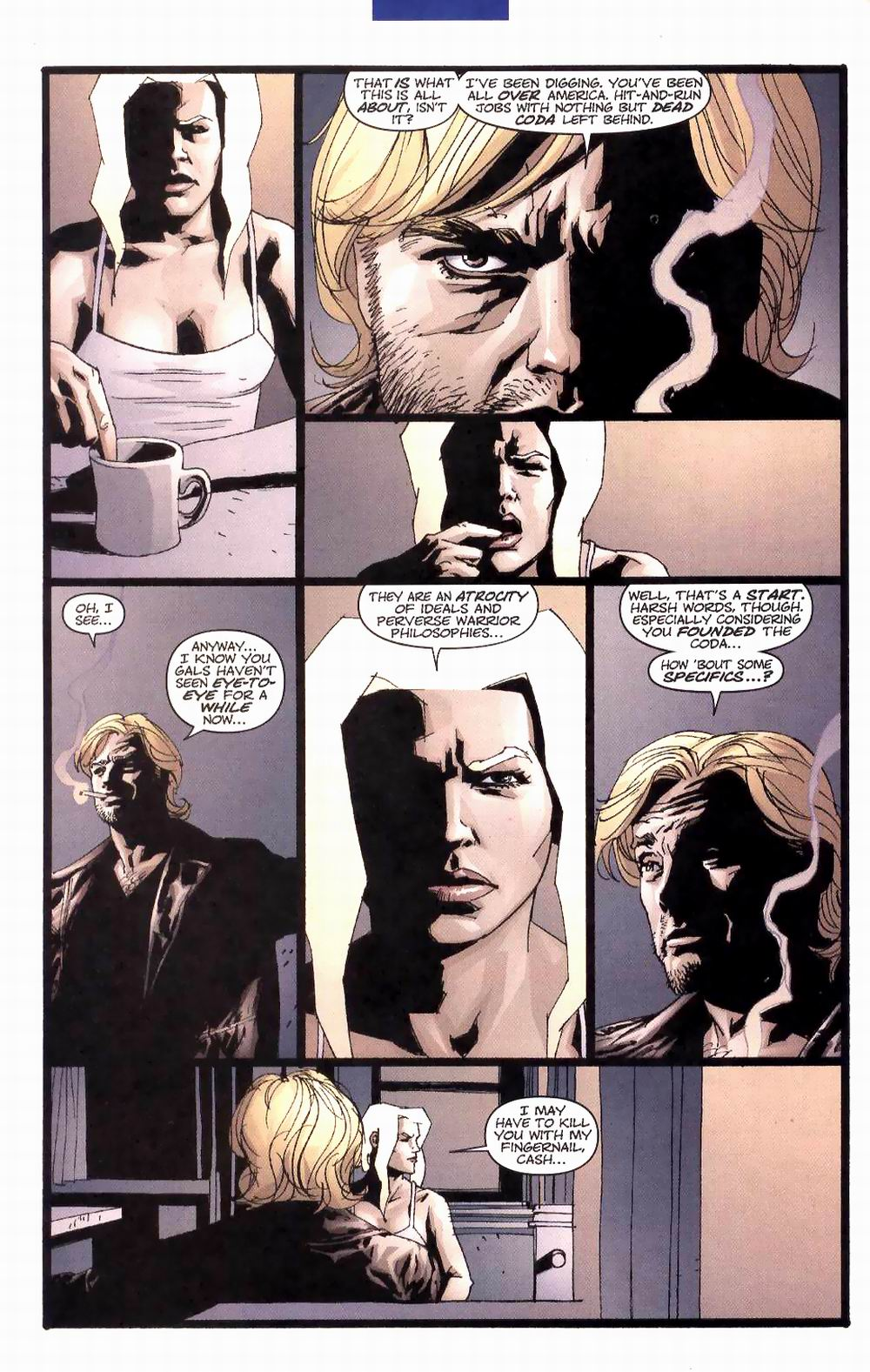 Wildcats (1999) Issue #27 #28 - English 5