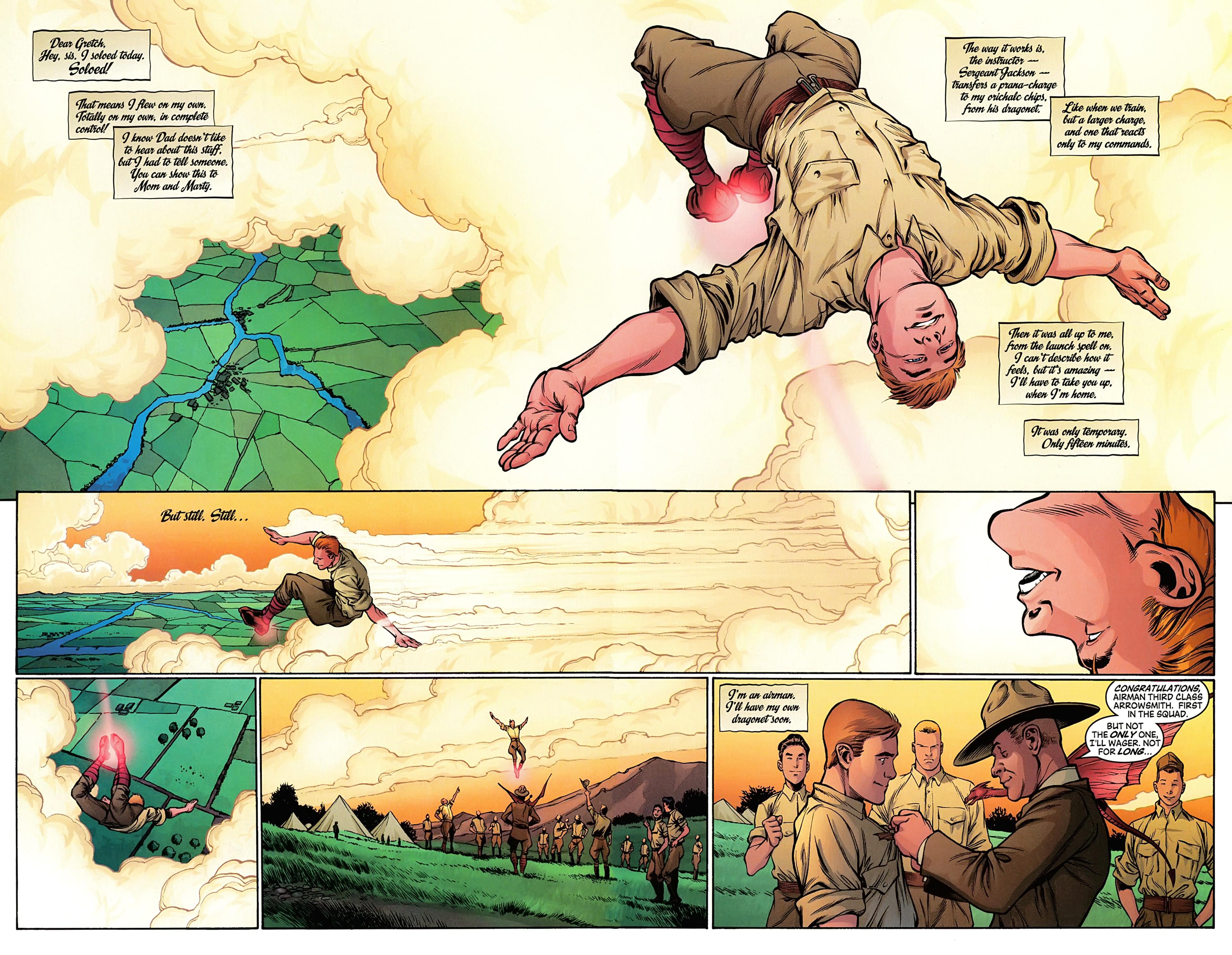 Read online Arrowsmith comic -  Issue #2 - 14