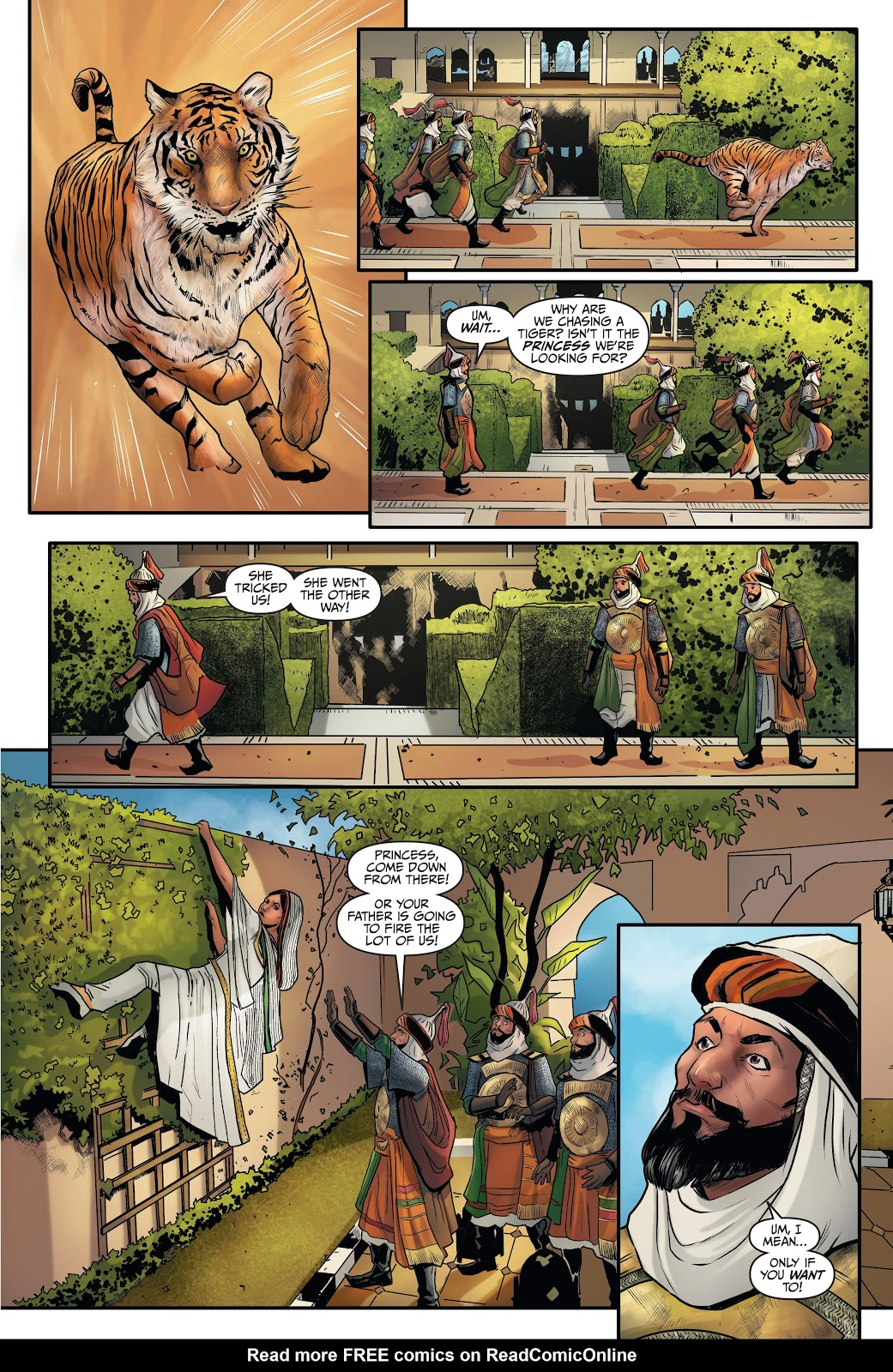 Read online Disney Aladdin: Four Tales of Agrabah comic -  Issue # TPB - 23