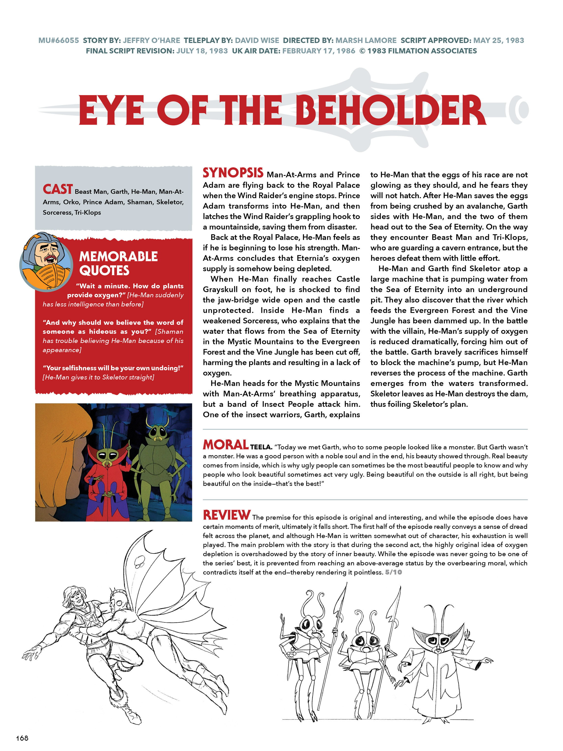 Read online He-Man and She-Ra: A Complete Guide to the Classic Animated Adventures comic -  Issue # TPB (Part 1) - 168