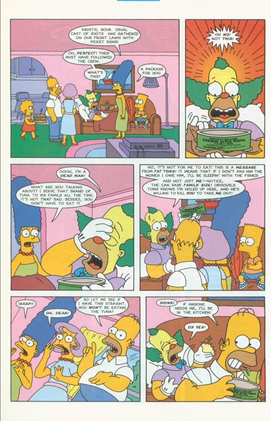 Read online Simpsons Comics comic -  Issue #40 - 11