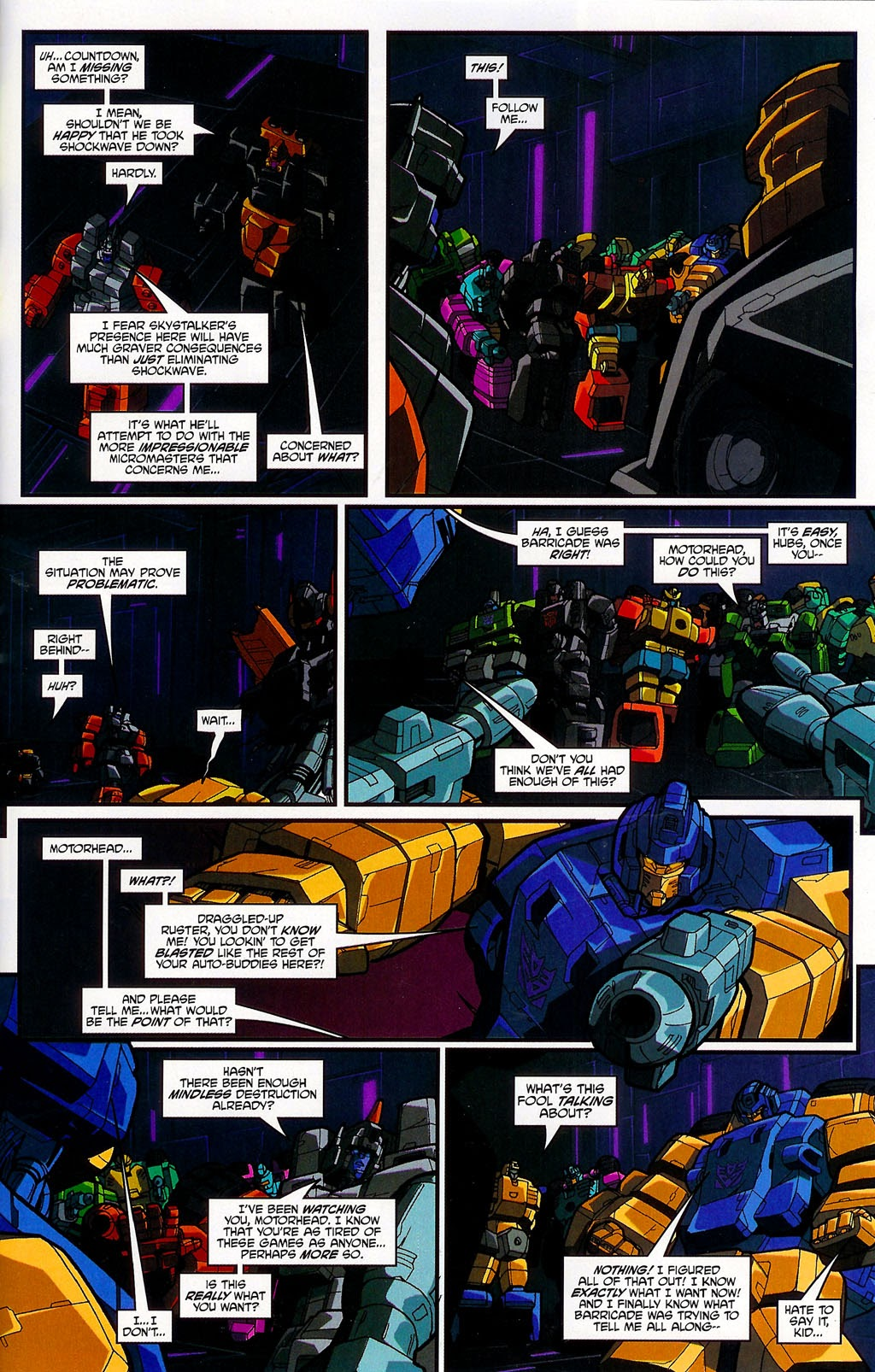 Read online Transformers: Micromasters comic -  Issue #4 - 19