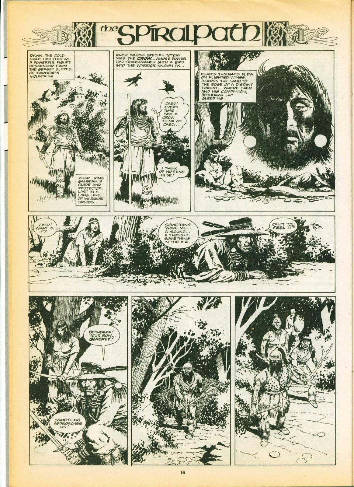 Warrior Issue #6 #7 - English 14