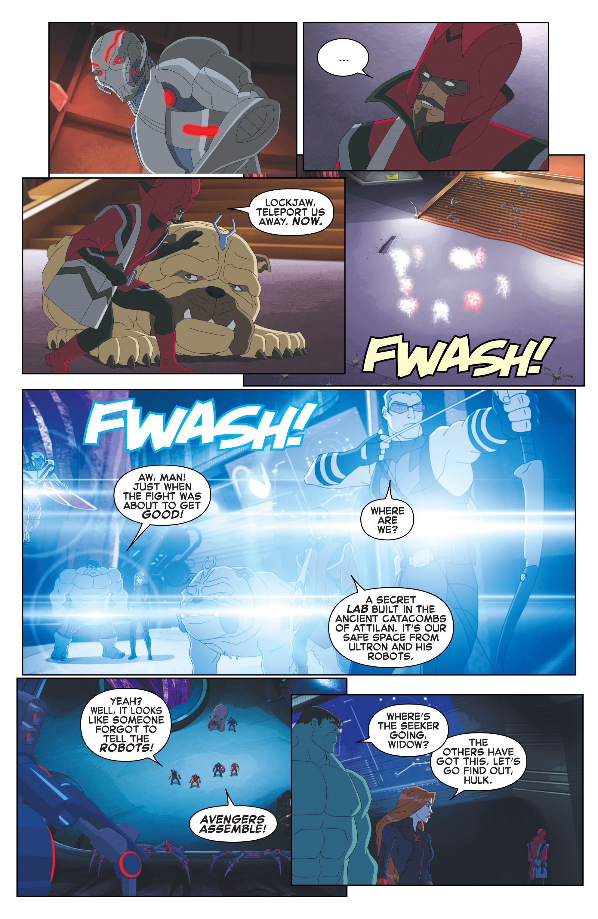 Read online Marvel Universe Avengers: Ultron Revolution comic -  Issue #10 - 7