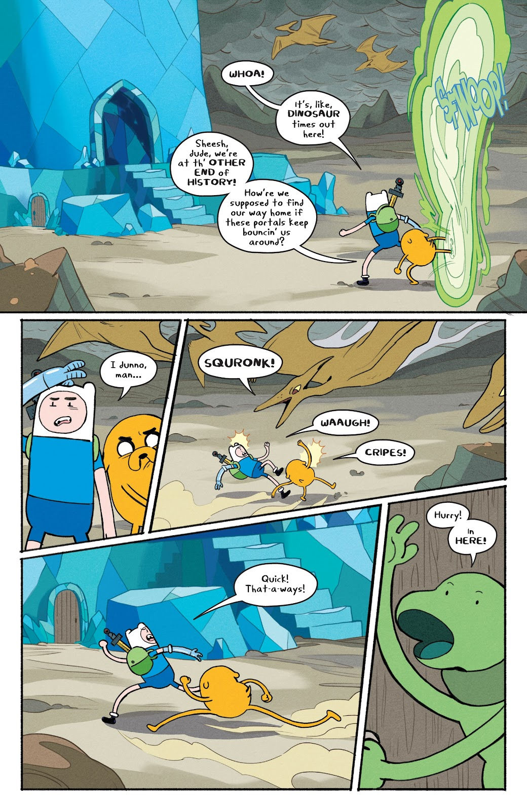 Read online Adventure Time: Beginning of the End comic -  Issue # _TPB - 79