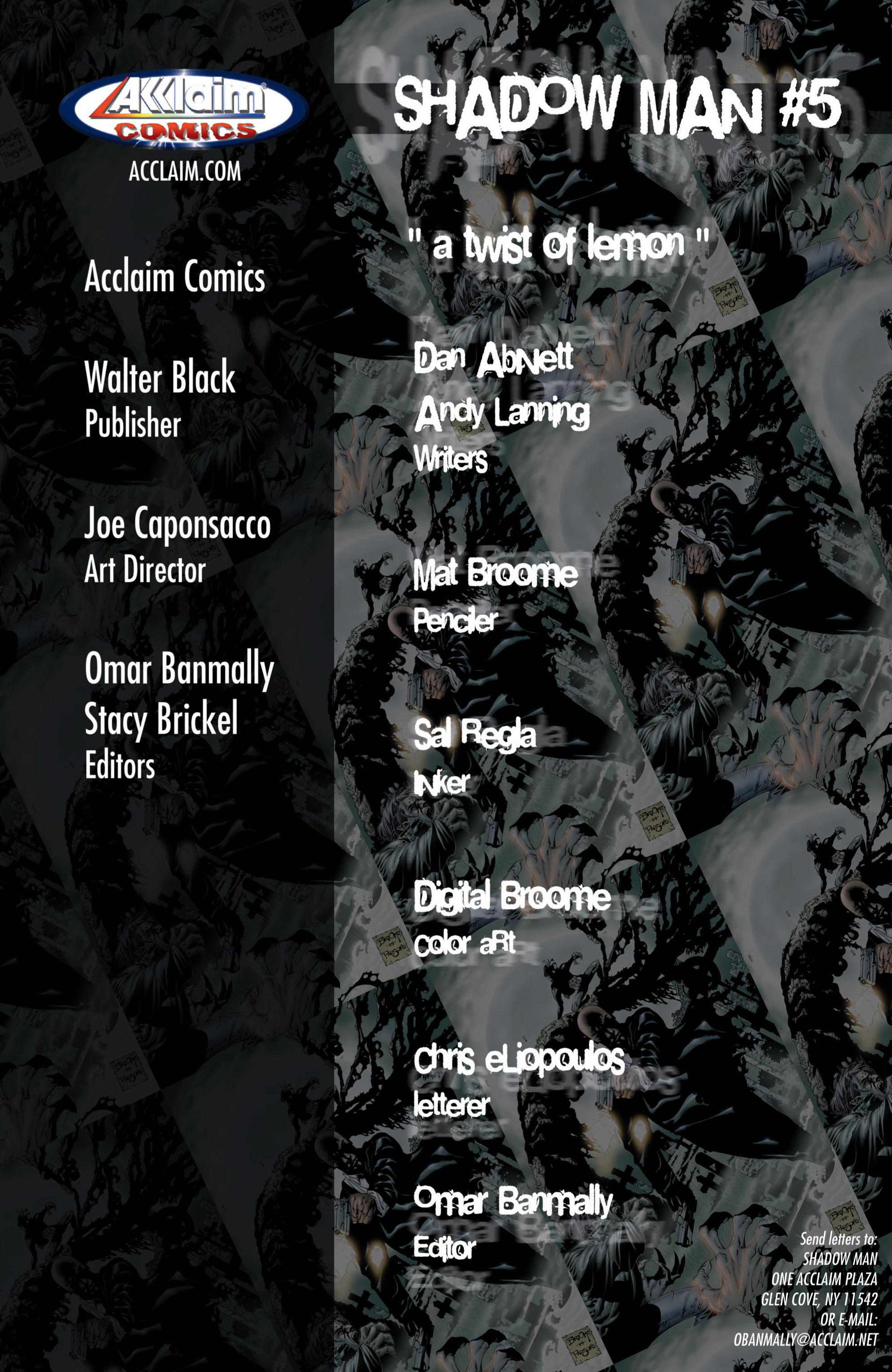 Read online Shadowman (1999) comic -  Issue #5 - 2