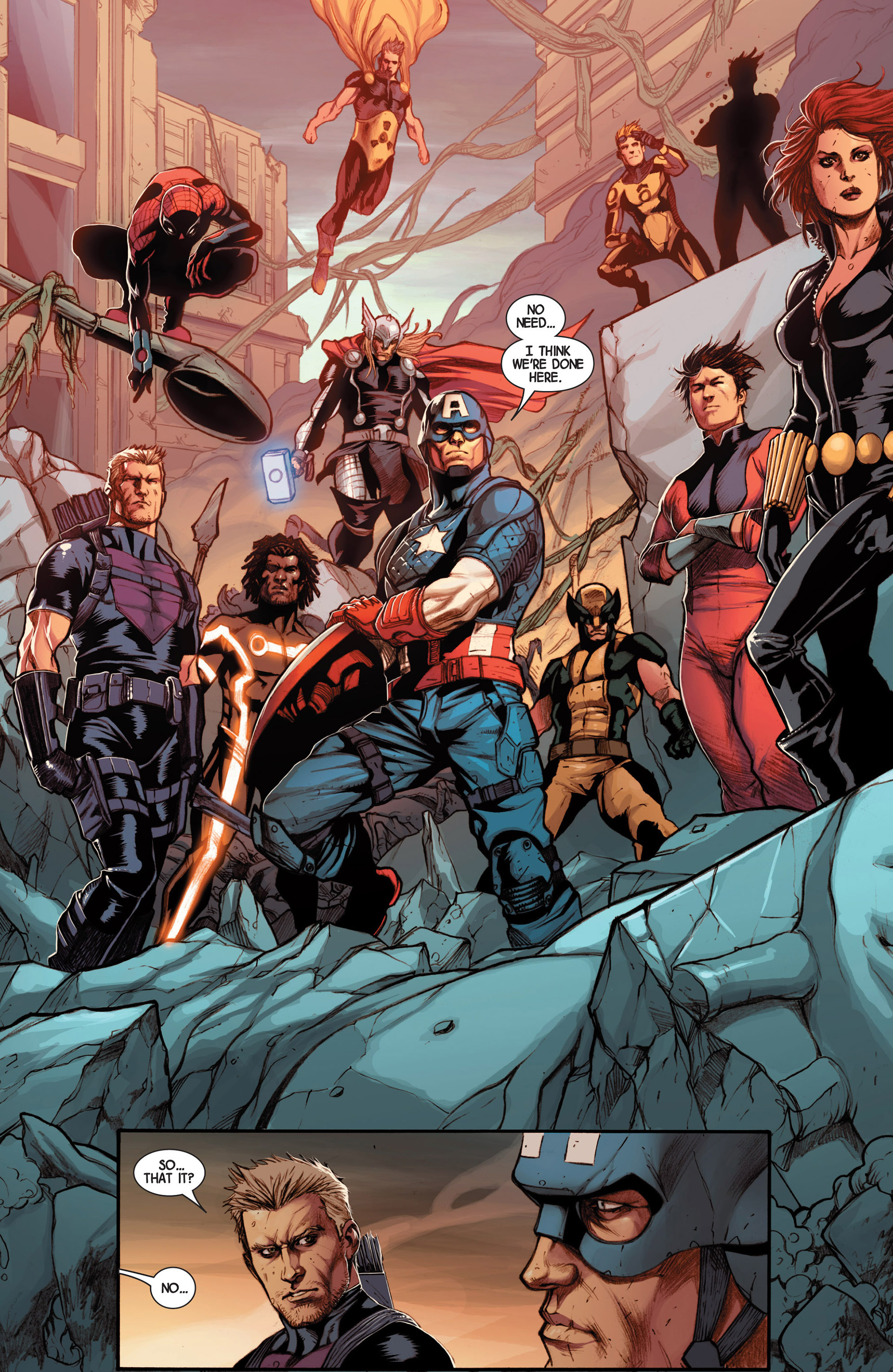Read online Avengers (2013) comic -  Issue #15 - 17