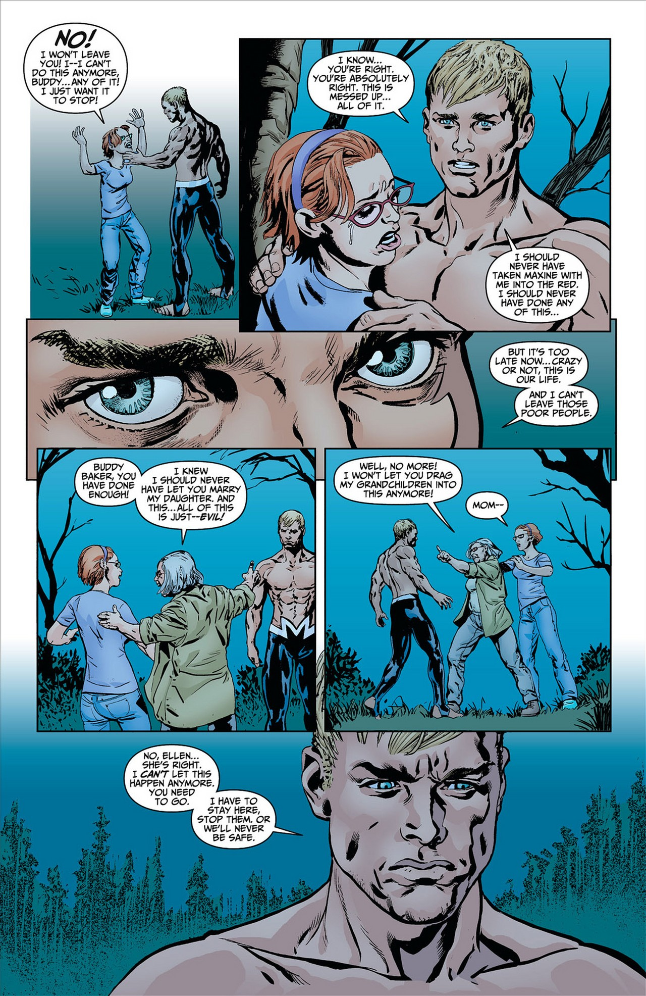 Read online Animal Man (2011) comic -  Issue #8 - 12