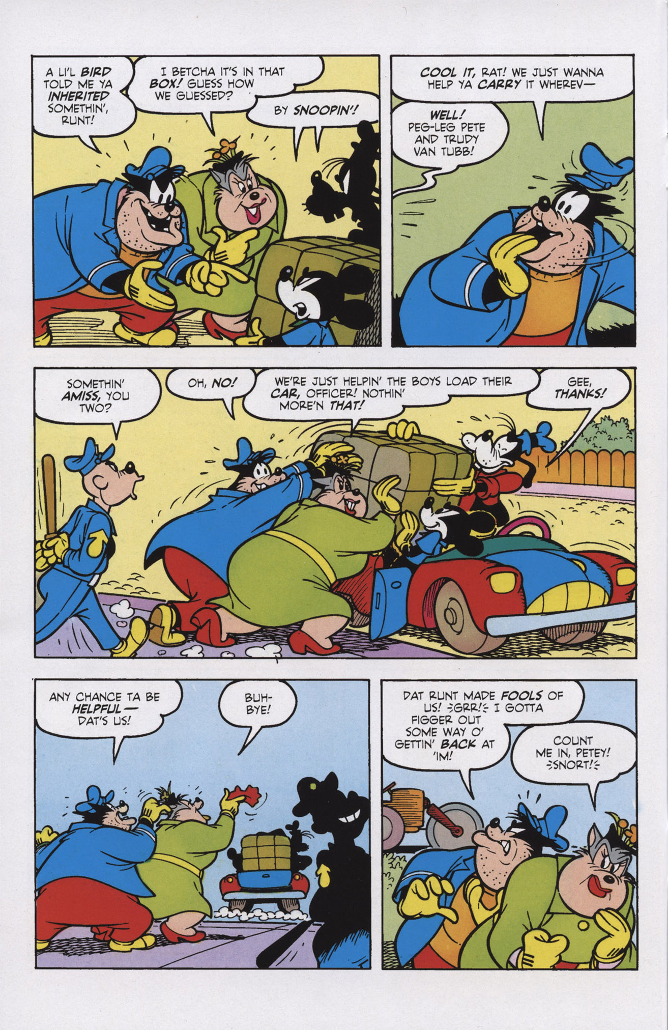 Read online Mickey Mouse (2011) comic -  Issue #309 - 8
