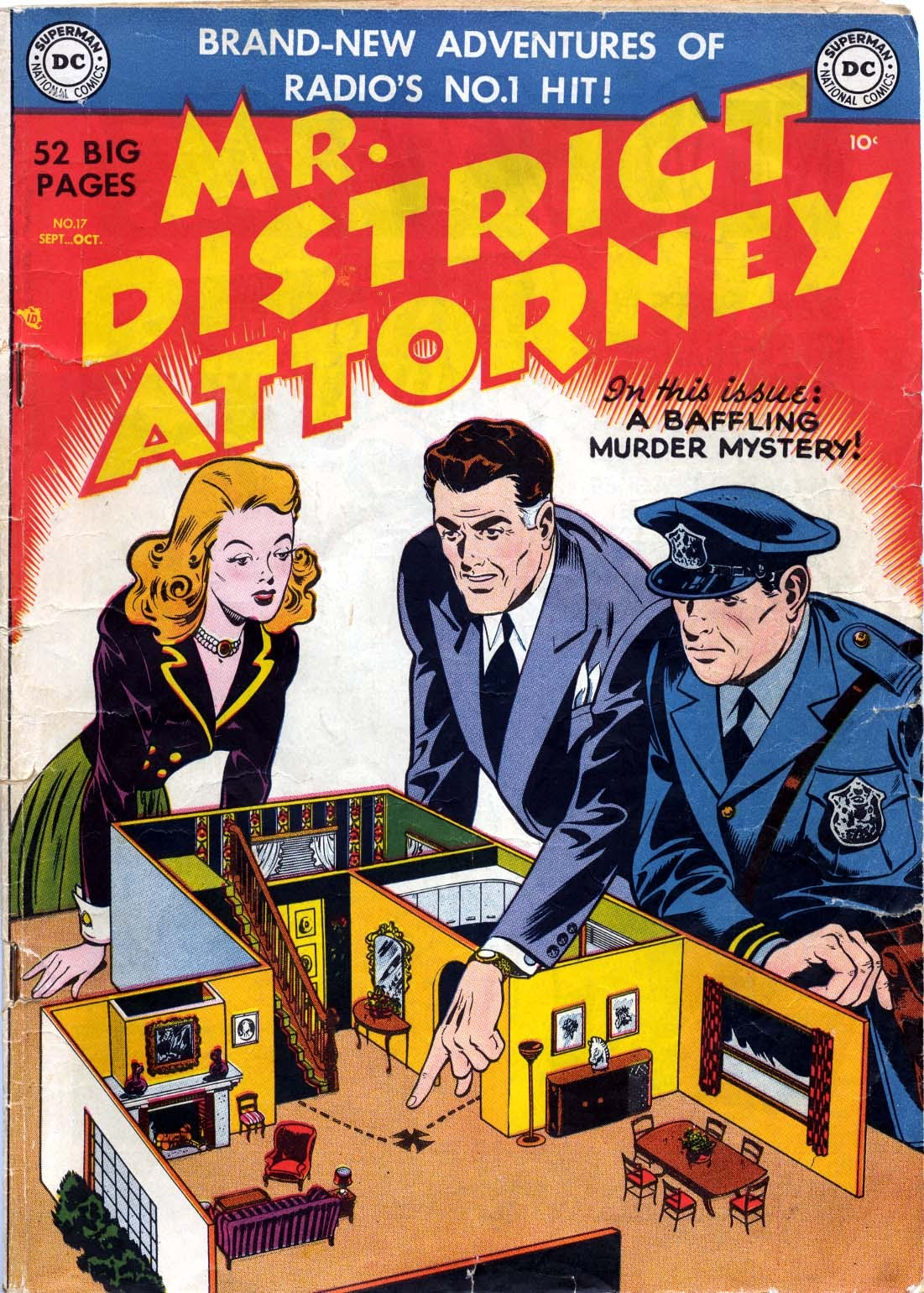 Mr. District Attorney issue 17 - Page 1