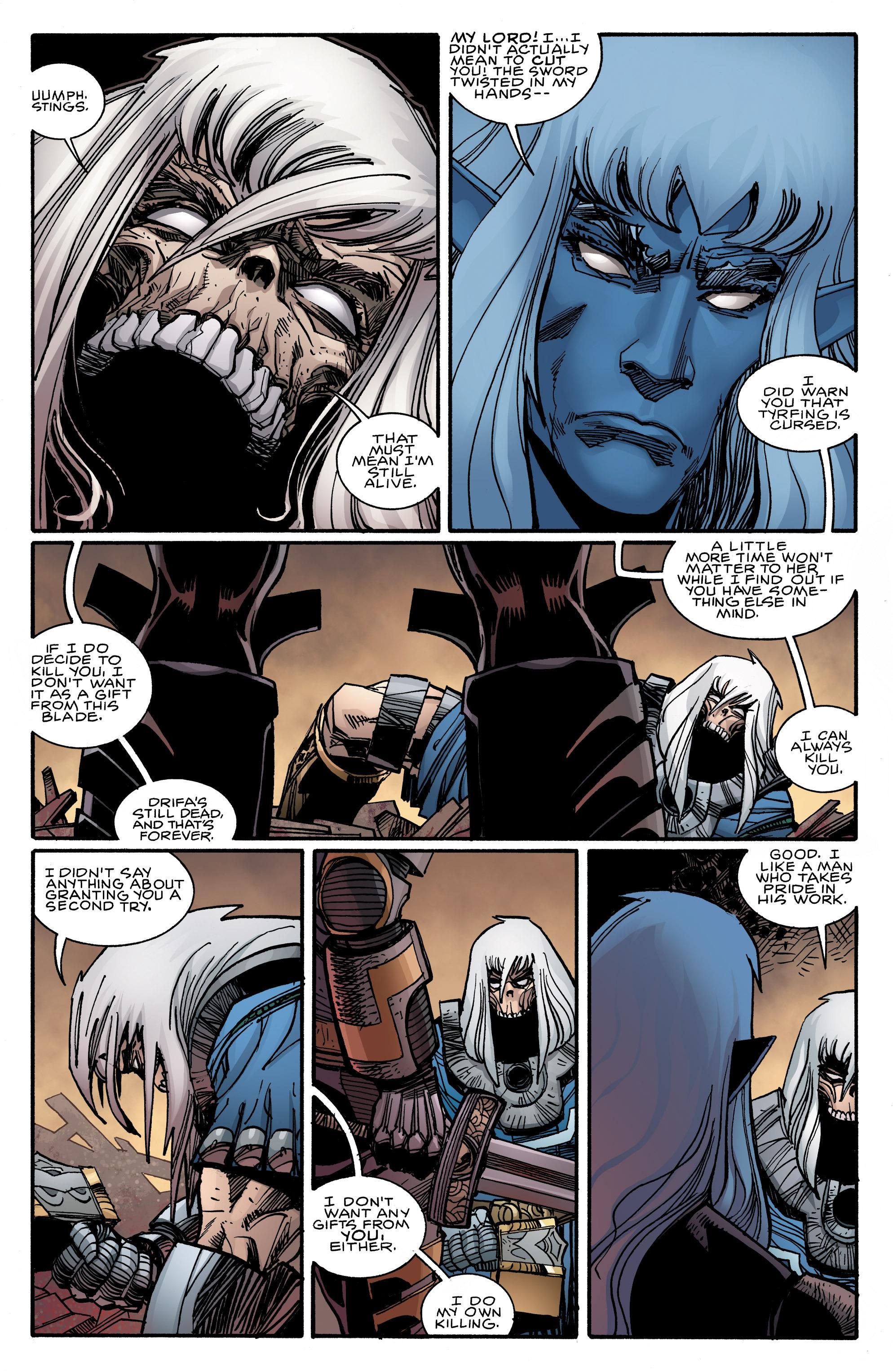 Read online Ragnarok comic -  Issue #9 - 4