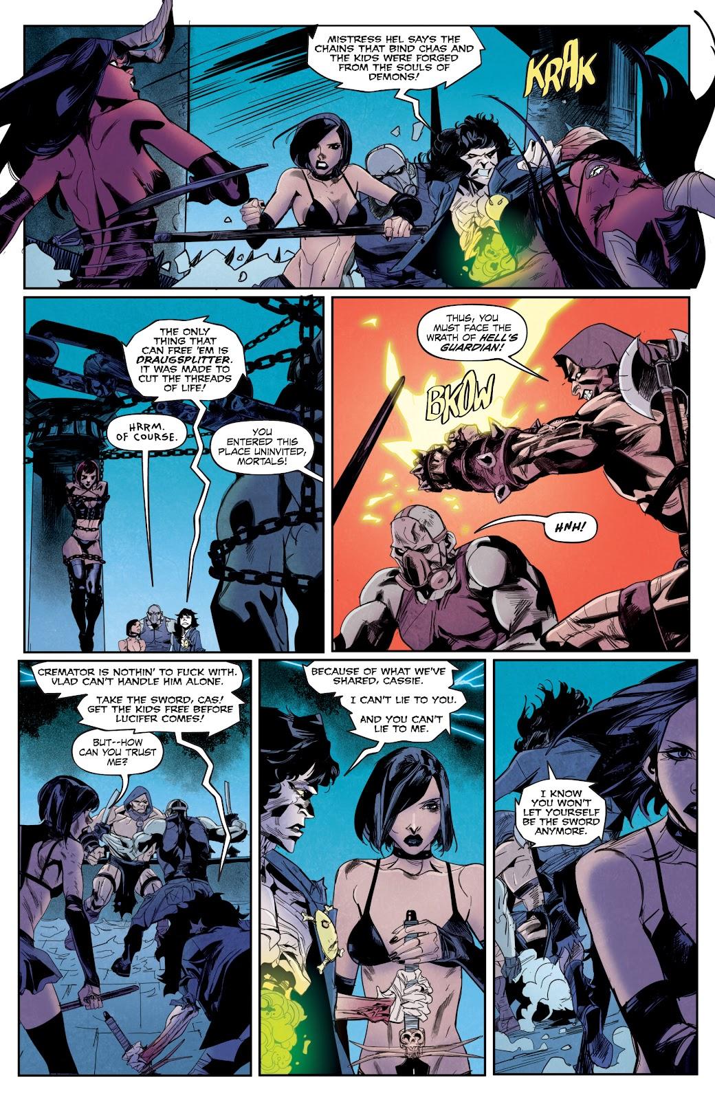Read online Hack/Slash vs. Chaos comic -  Issue #5 - 9