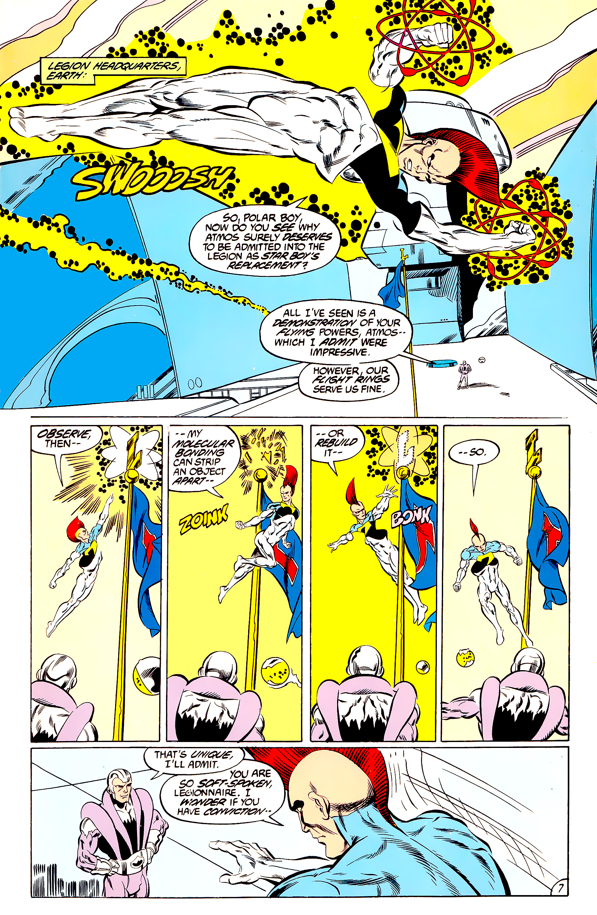Legion of Super-Heroes (1984) 44 Page 7