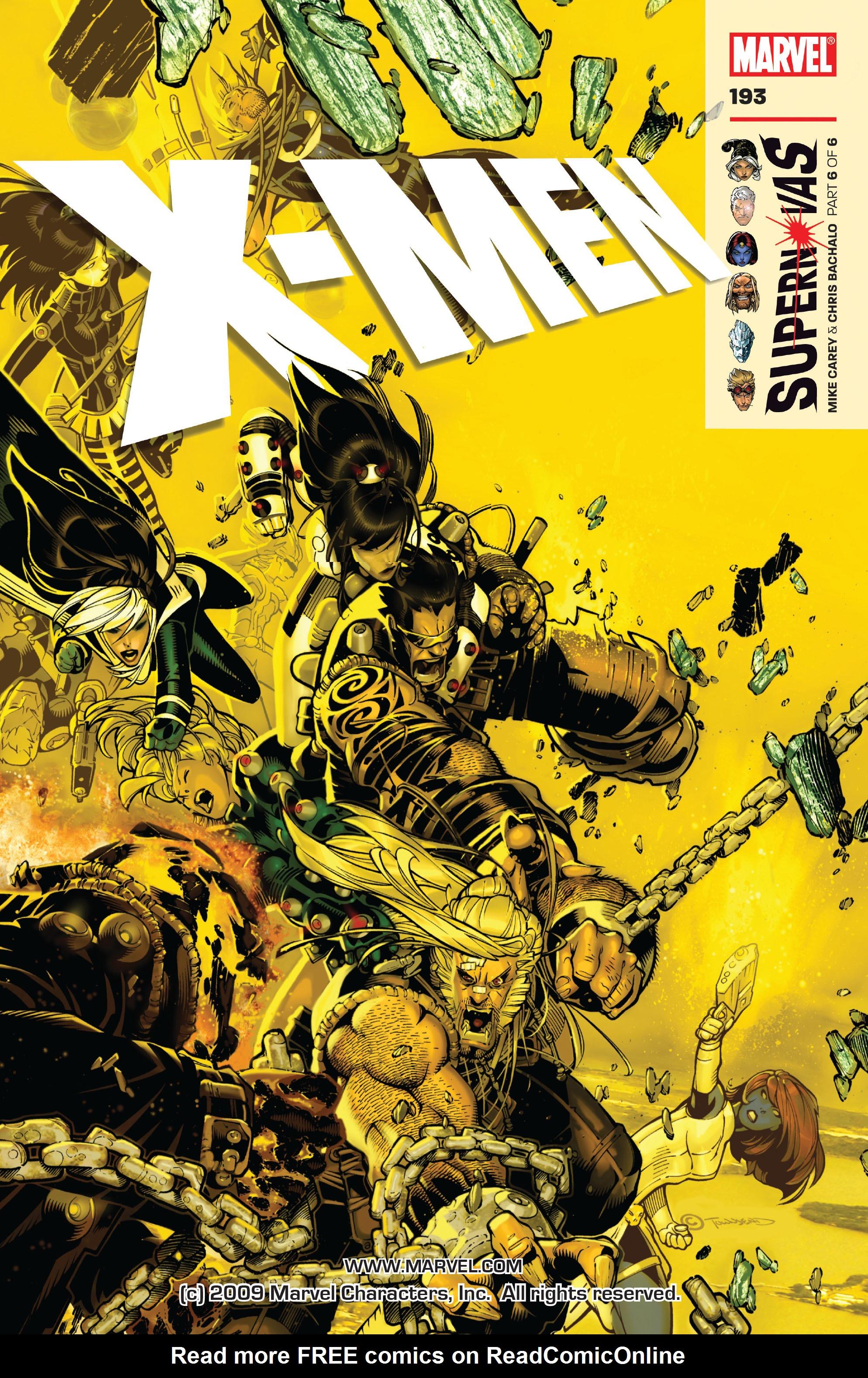 X-Men (1991) 193 Page 0