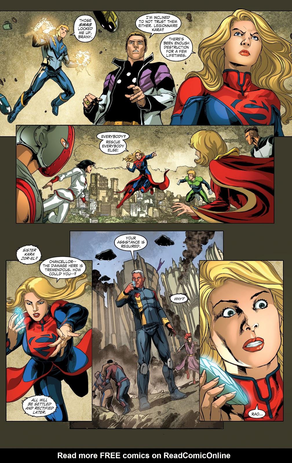 Read online Smallville Season 11 [II] comic -  Issue # TPB 4 - 93