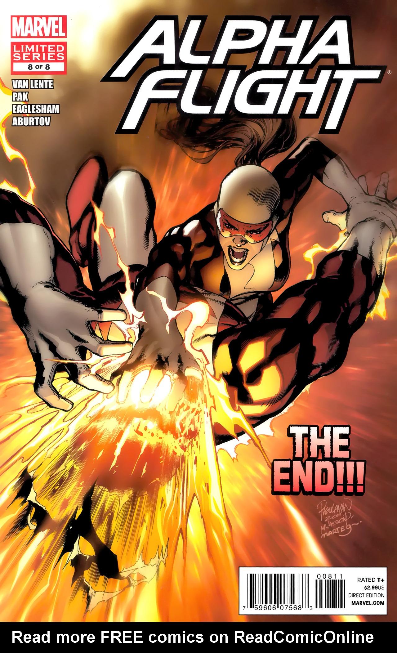 Read online Alpha Flight (2011) comic -  Issue #8 - 1