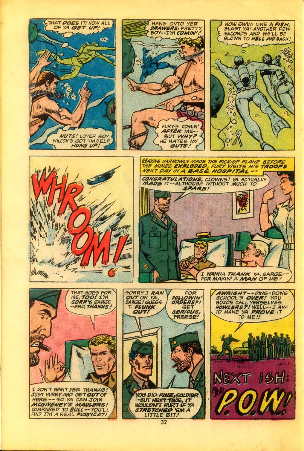 Read online Sgt. Fury comic -  Issue #116 - 34