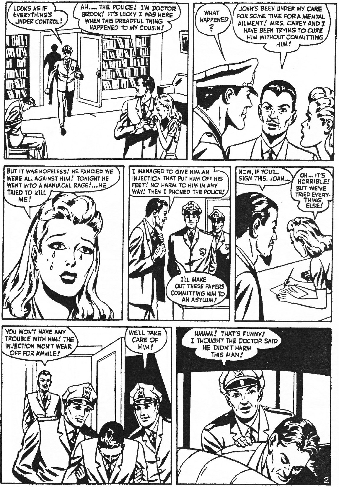 Read online Men of Mystery Comics comic -  Issue #84 - 124