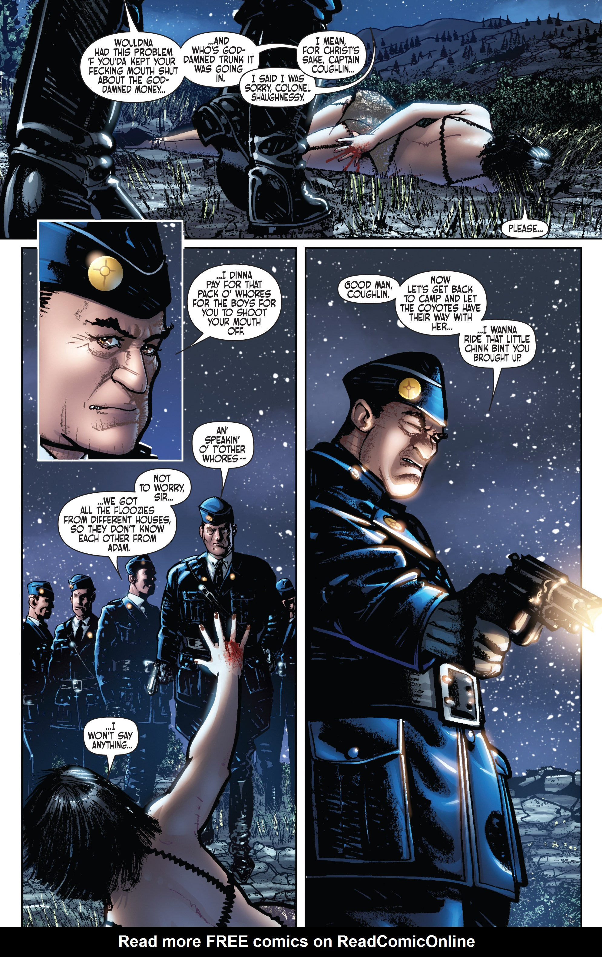 Read online Dominic Fortune comic -  Issue #1 - 17