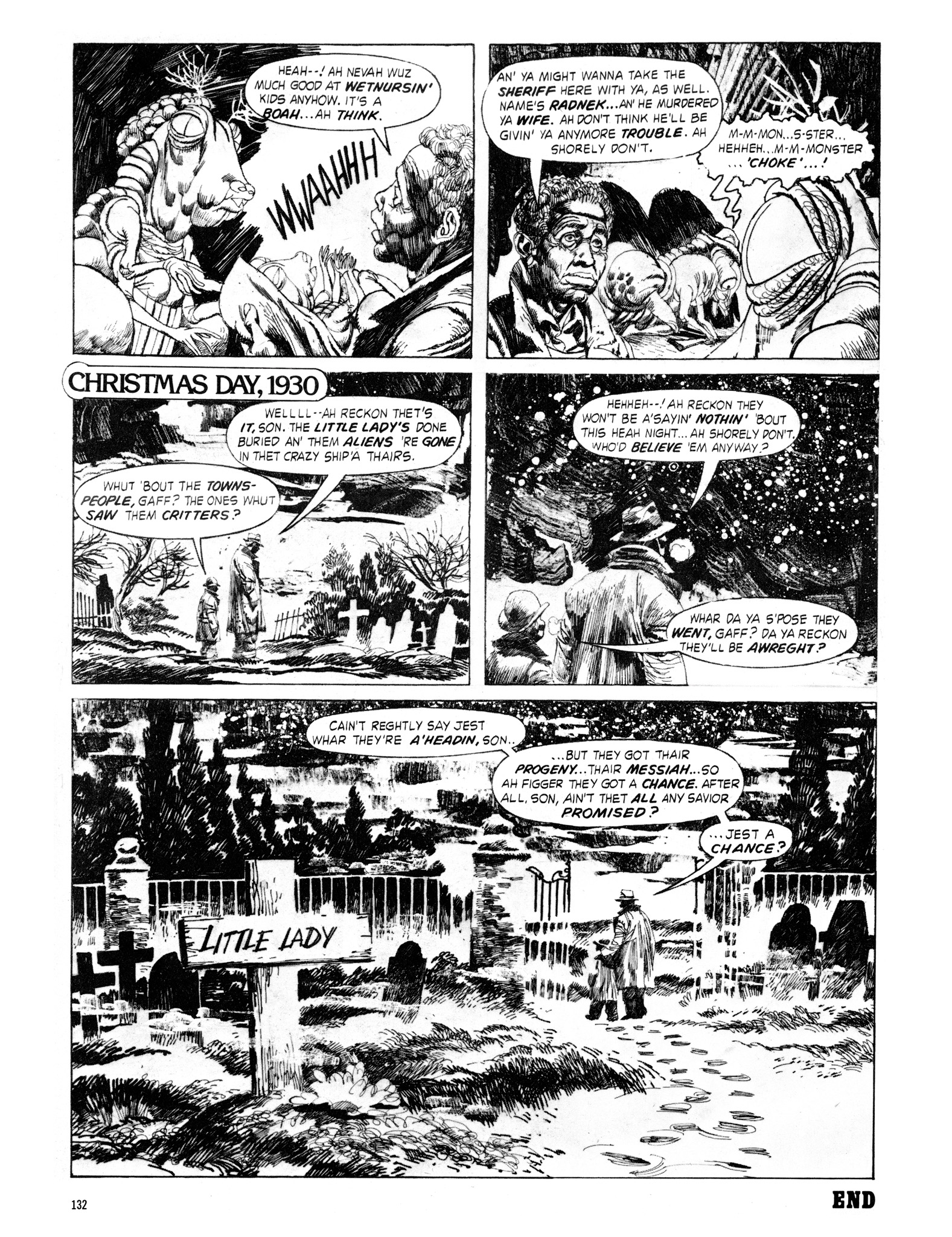 Read online Eerie Archives comic -  Issue # TPB 18 - 133