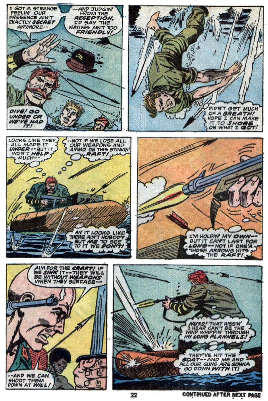 Read online Sgt. Fury comic -  Issue #114 - 24