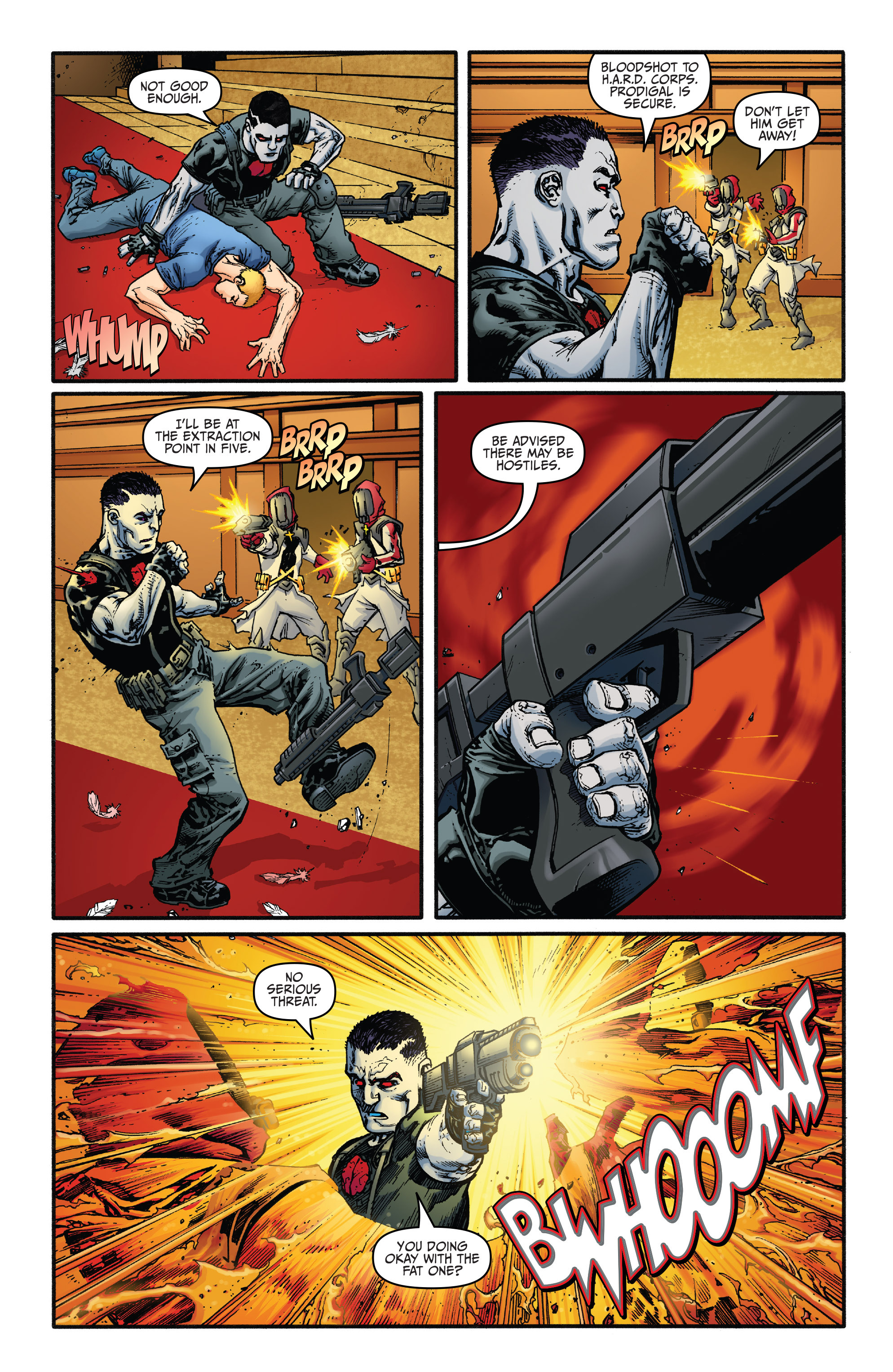 Read online Bloodshot and H.A.R.D.Corps comic -  Issue #20 - 5
