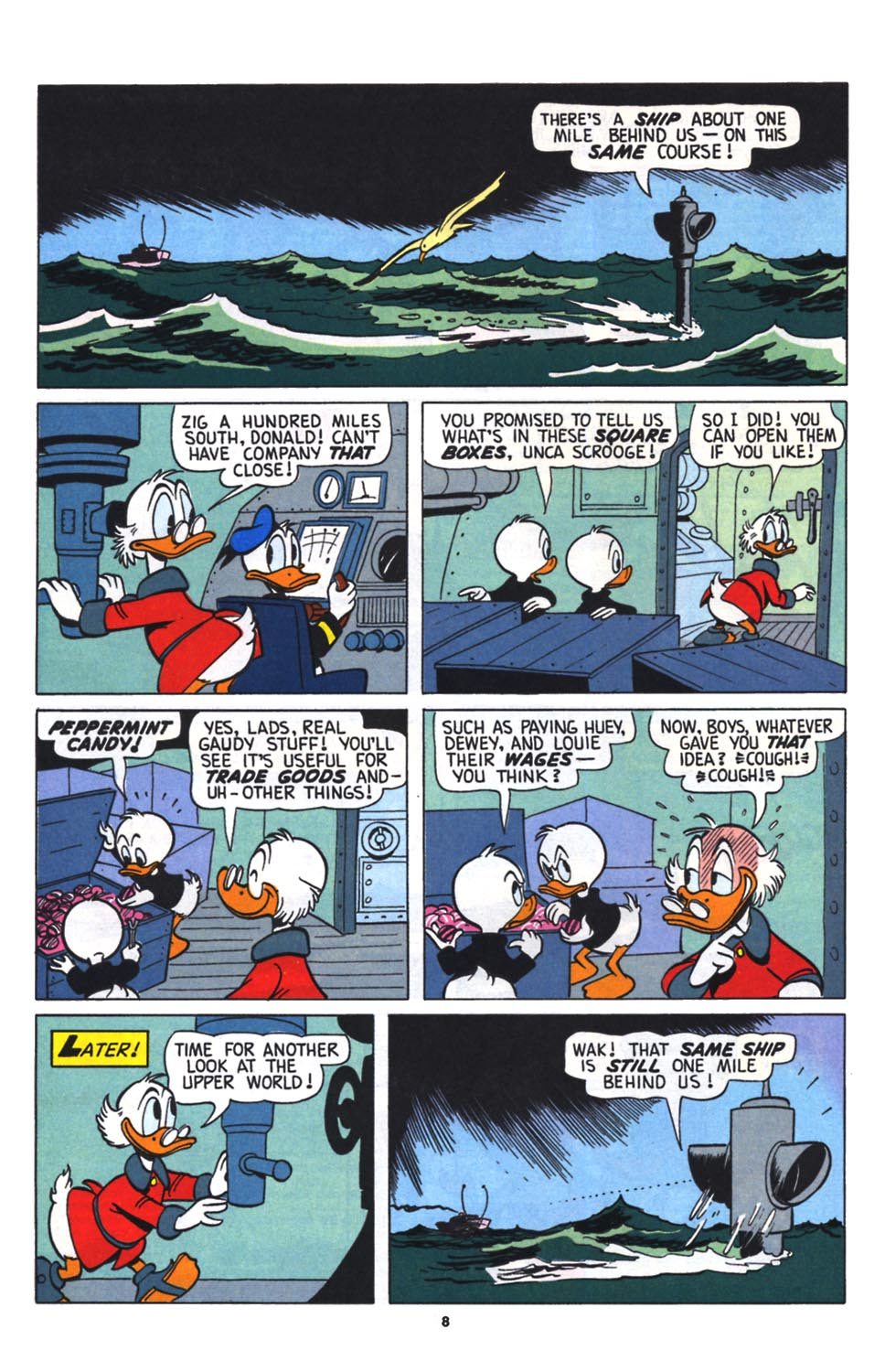 Read online Uncle Scrooge (1953) comic -  Issue #256 - 9