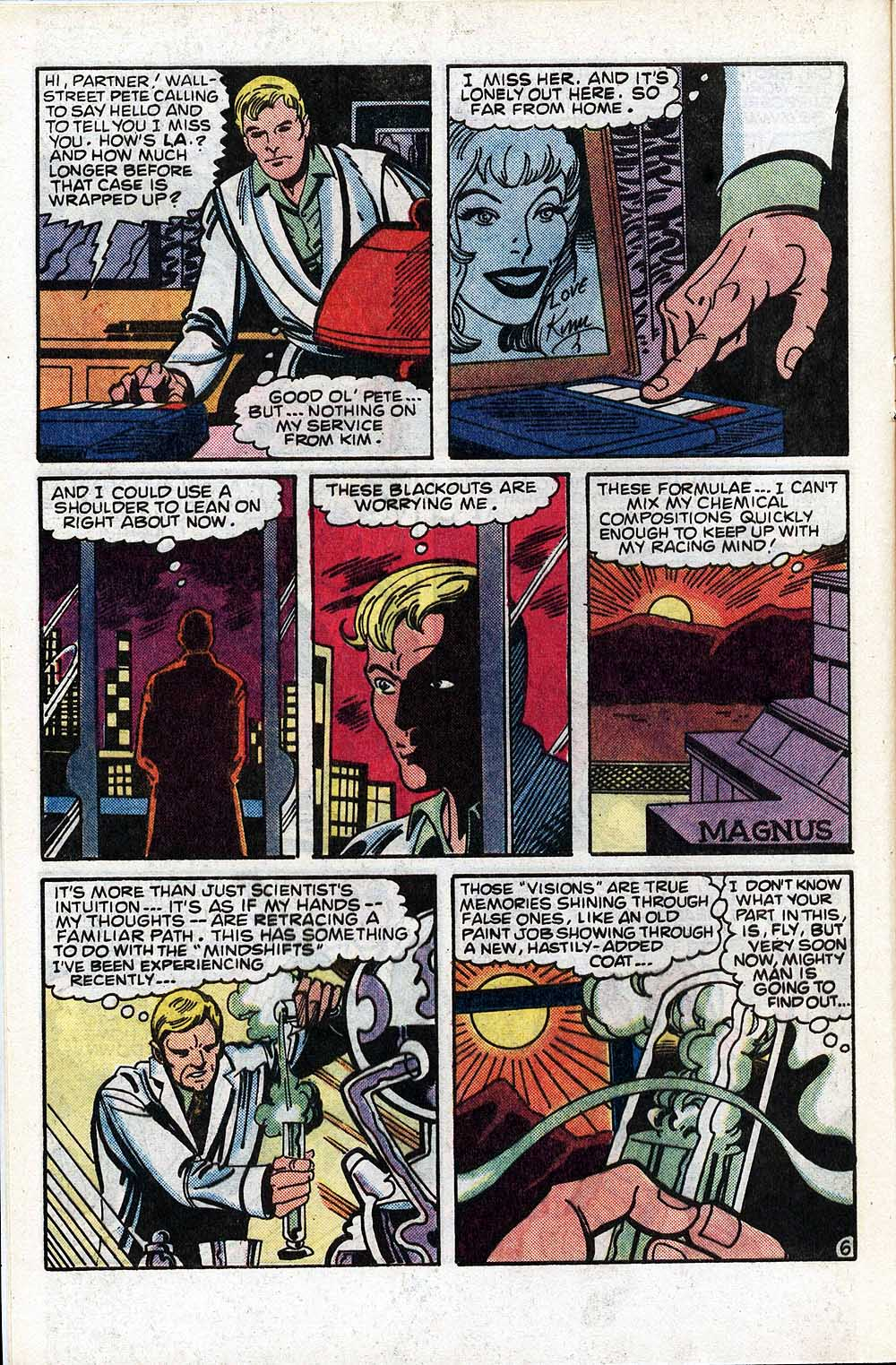 Read online The Fly (1983) comic -  Issue #4 - 8