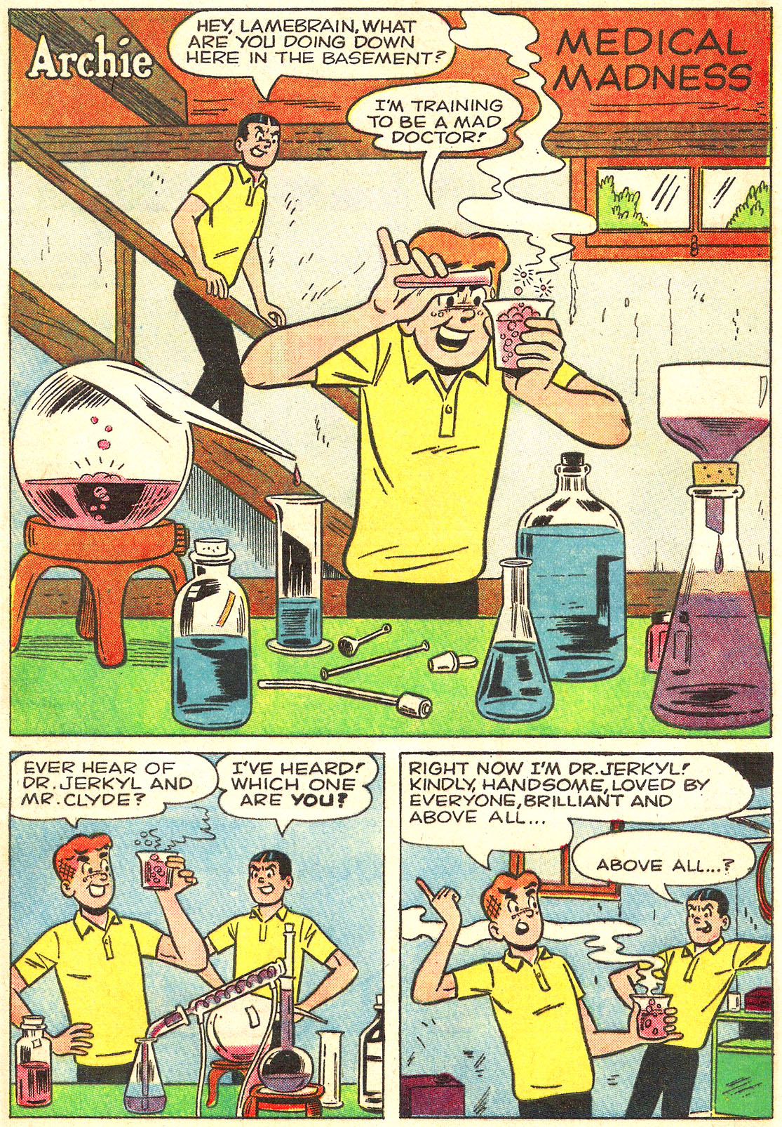 Read online Archie (1960) comic -  Issue #157 - 20