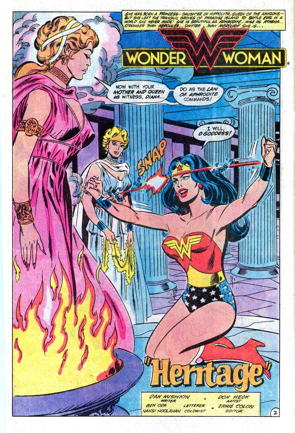 Read online Wonder Woman (1942) comic -  Issue #308 - 4
