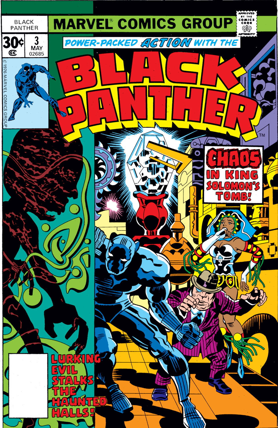 Black Panther (1977) issue 3 - Page 1