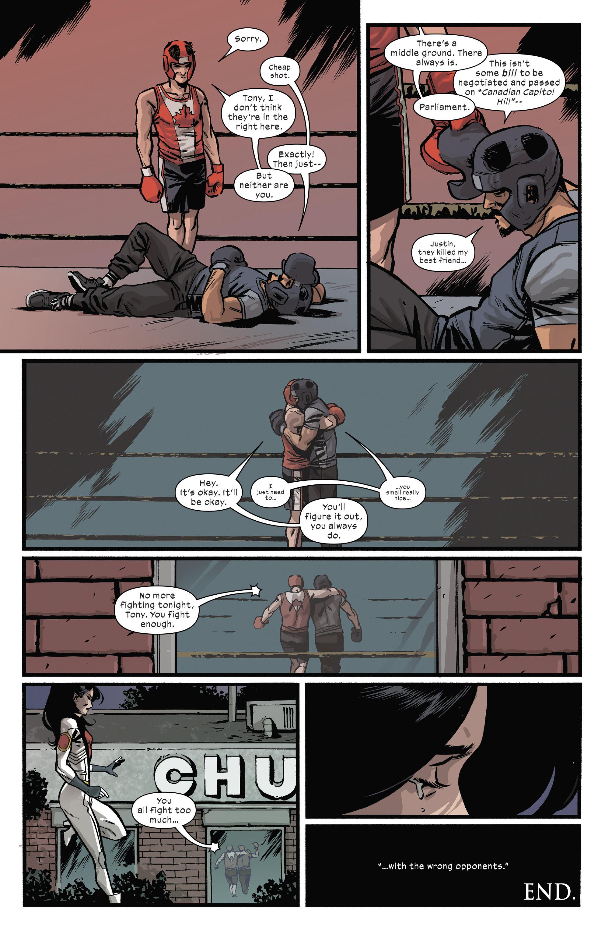 Read online Civil War II: Choosing Sides comic -  Issue #5 - 9