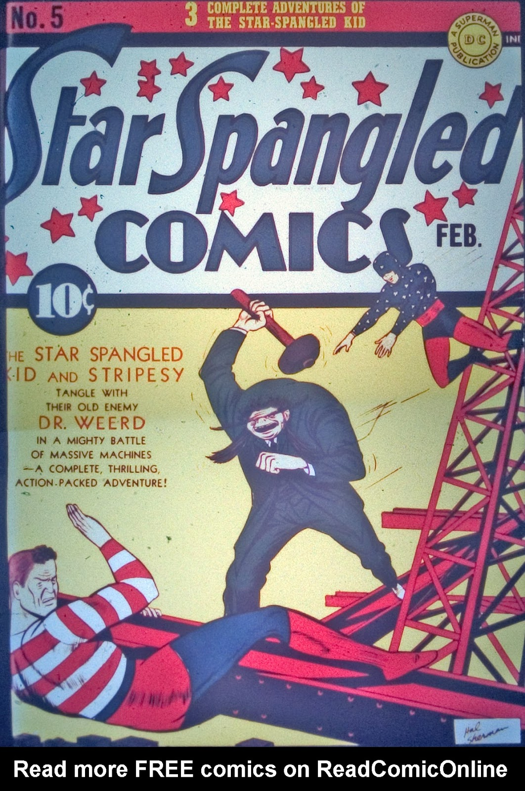 Star Spangled Comics (1941) issue 5 - Page 1