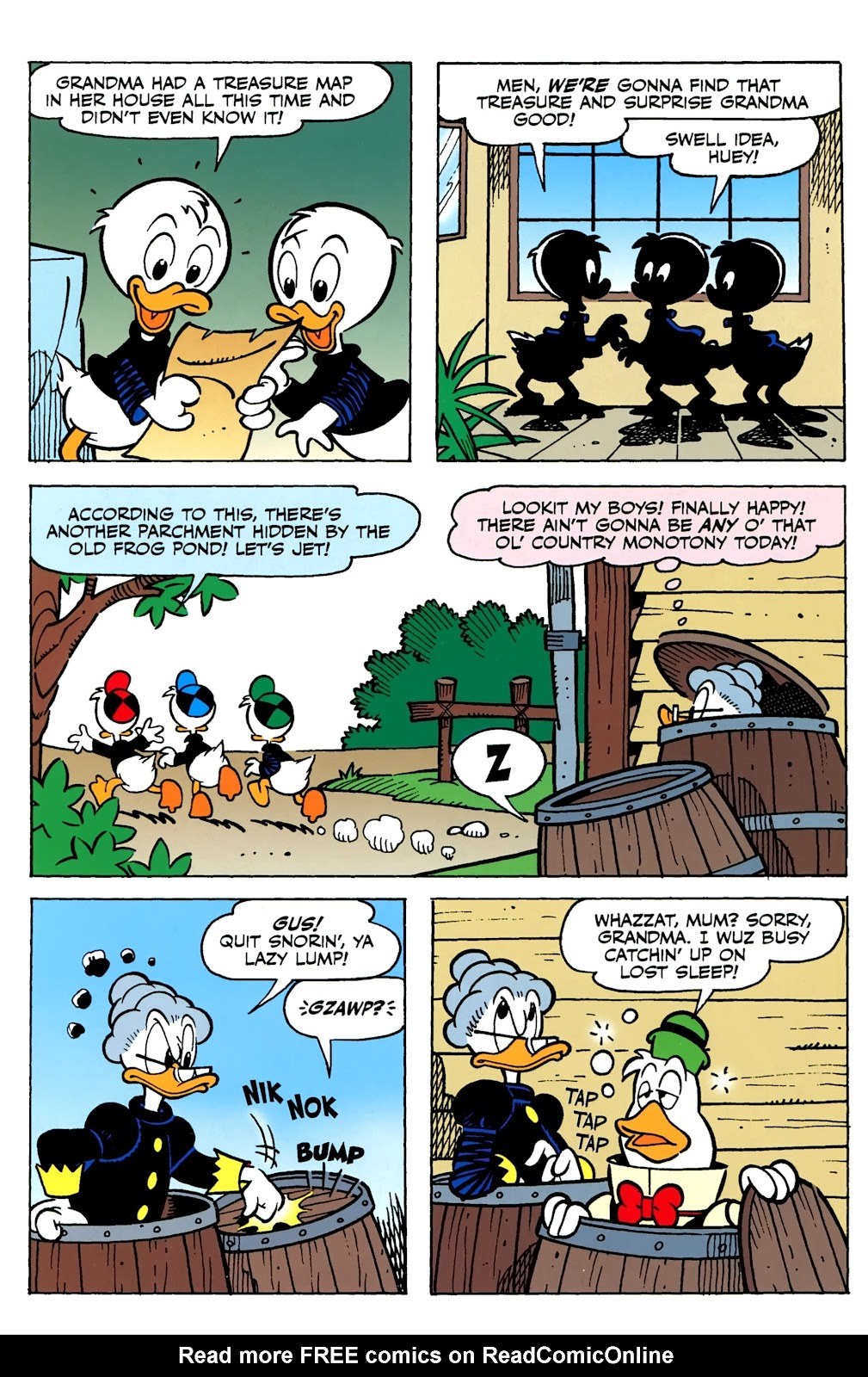 Walt Disney's Comics and Stories issue 730 - Page 27
