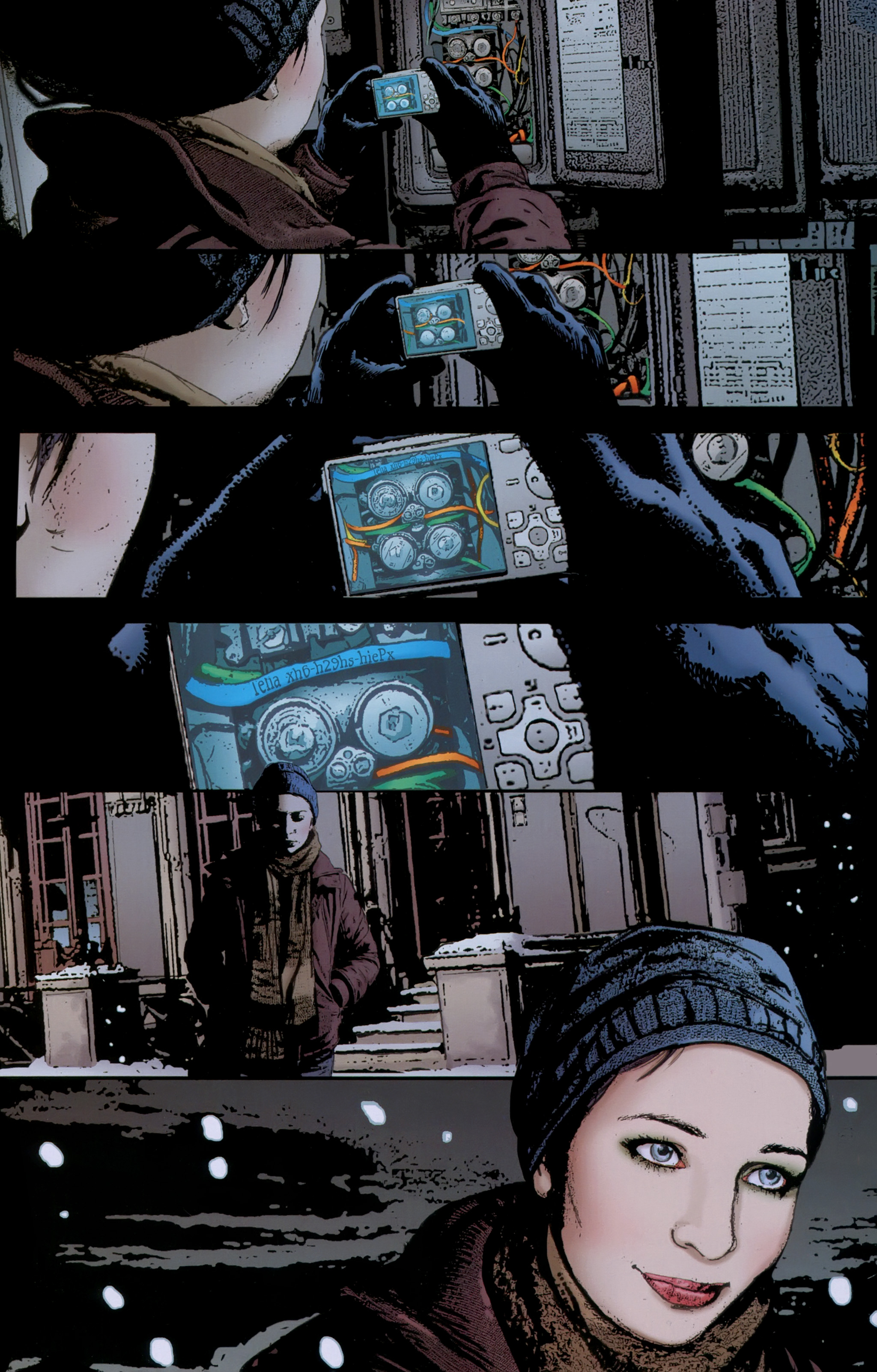 Read online The Girl With the Dragon Tattoo comic -  Issue # TPB 1 - 46