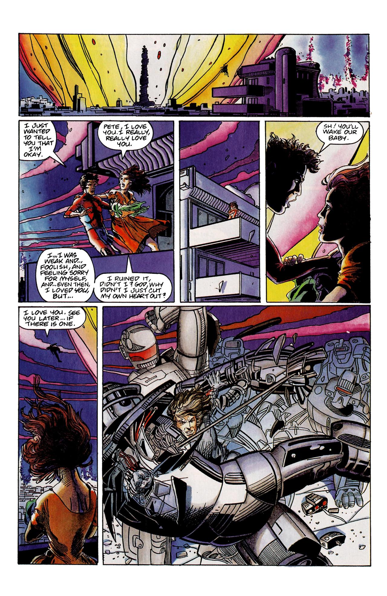 Read online Harbinger (1992) comic -  Issue #9 - 22