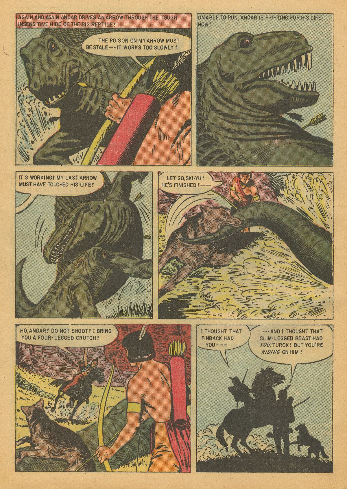 Read online Turok, Son of Stone comic -  Issue #8 - 28