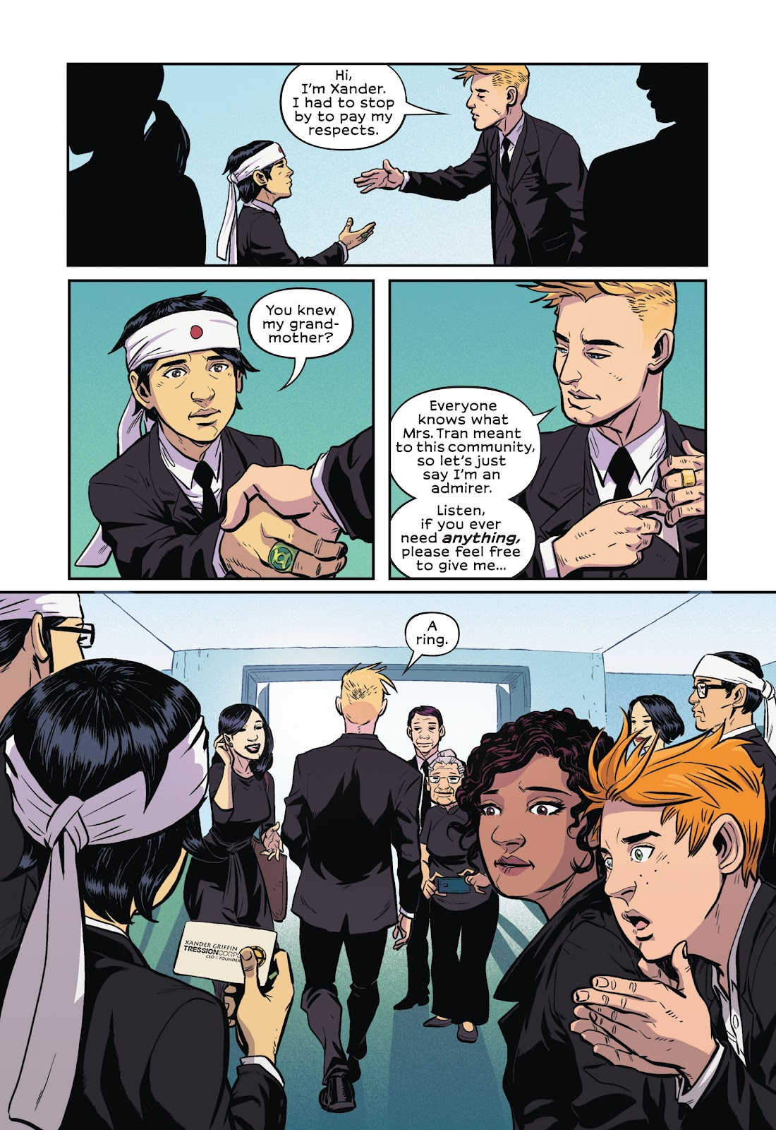 Read online Green Lantern: Legacy comic -  Issue # TPB - 22