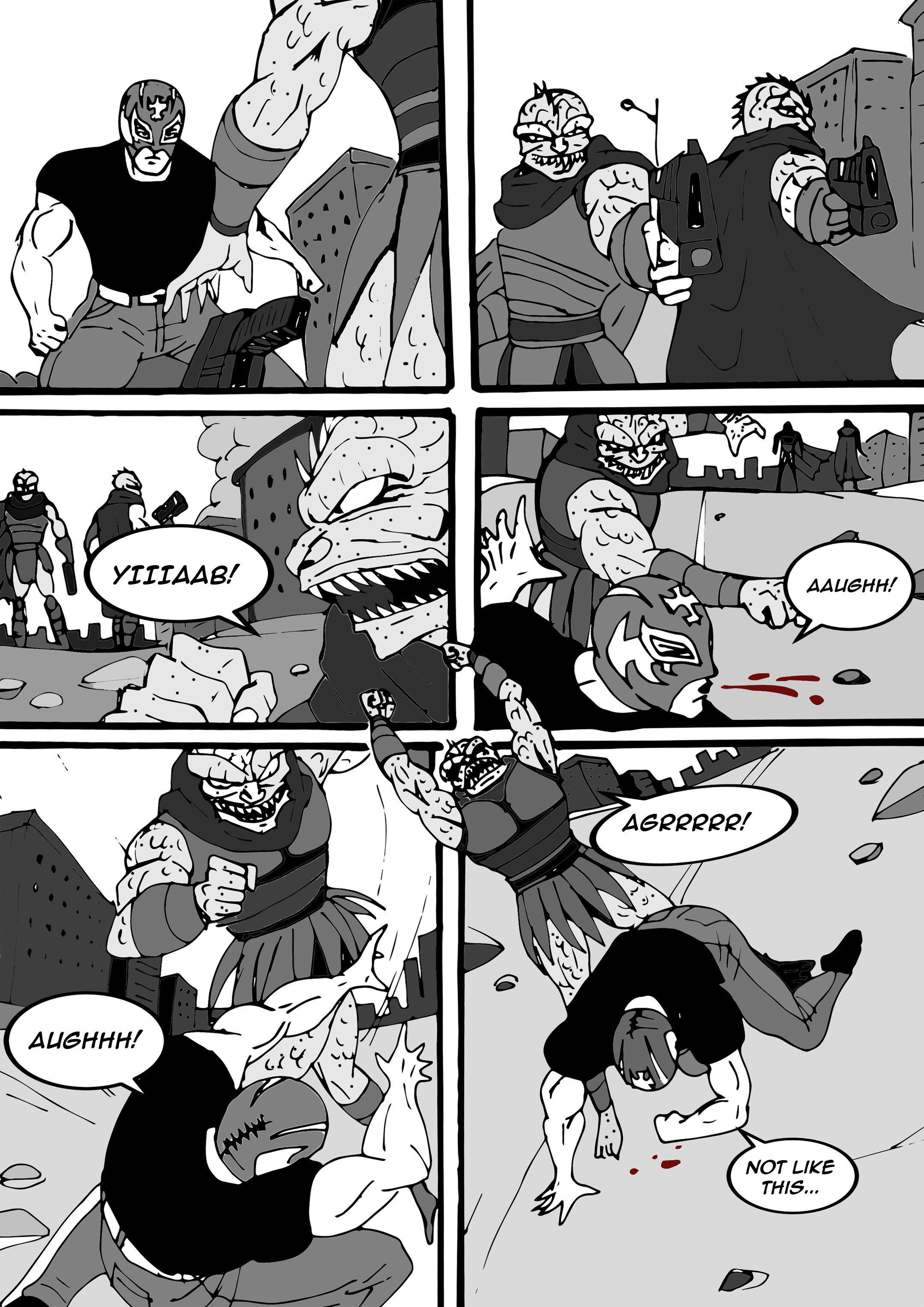 Read online Aski vs. The Draconians comic -  Issue #1 - 21