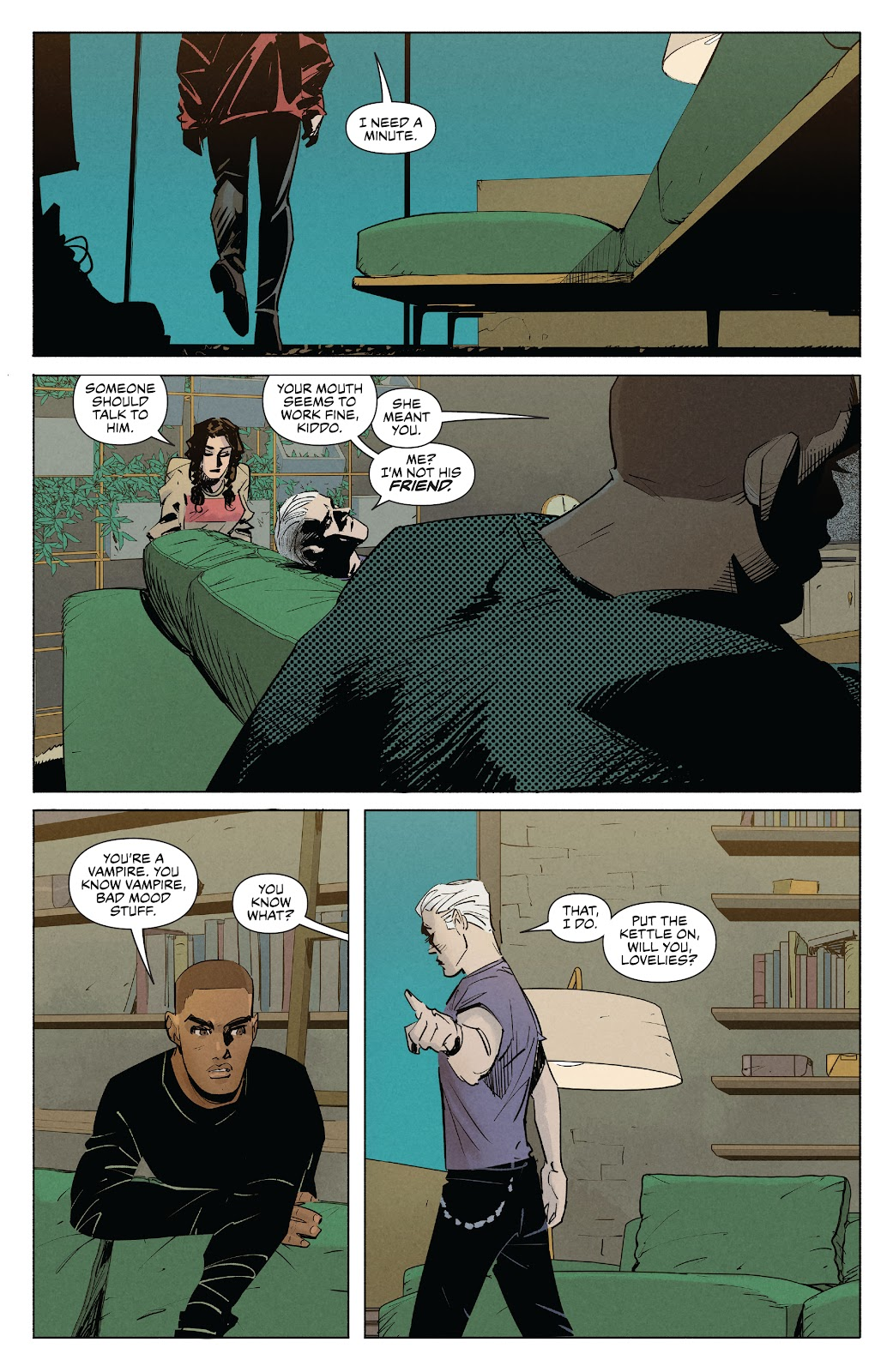 Read online Angel   Spike comic -  Issue #10 - 17