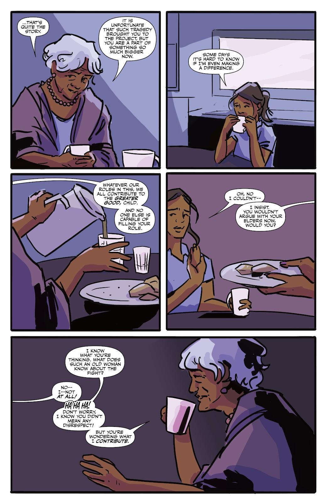 Read online Black (AF): Devil's Dye comic -  Issue #3 - 8