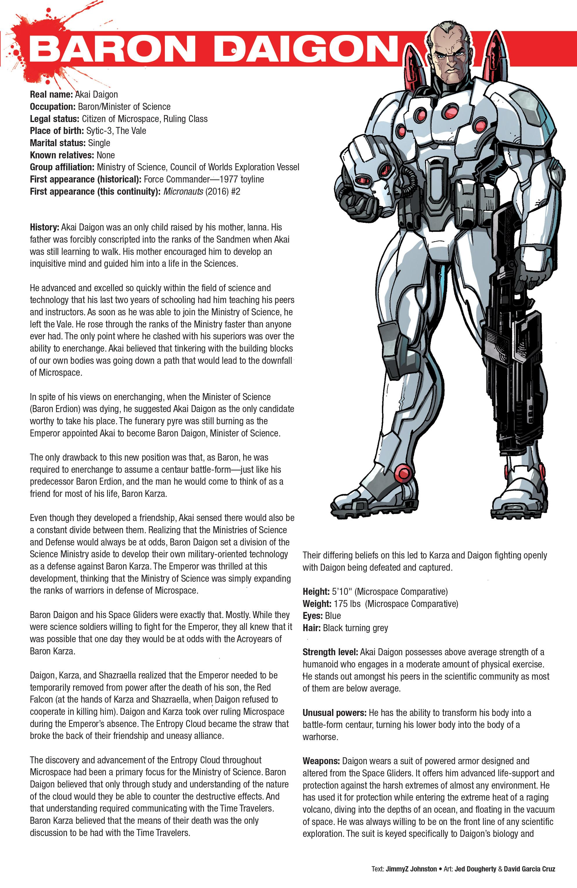 Read online Hasbro Heroes Sourcebook comic -  Issue #1 - 15