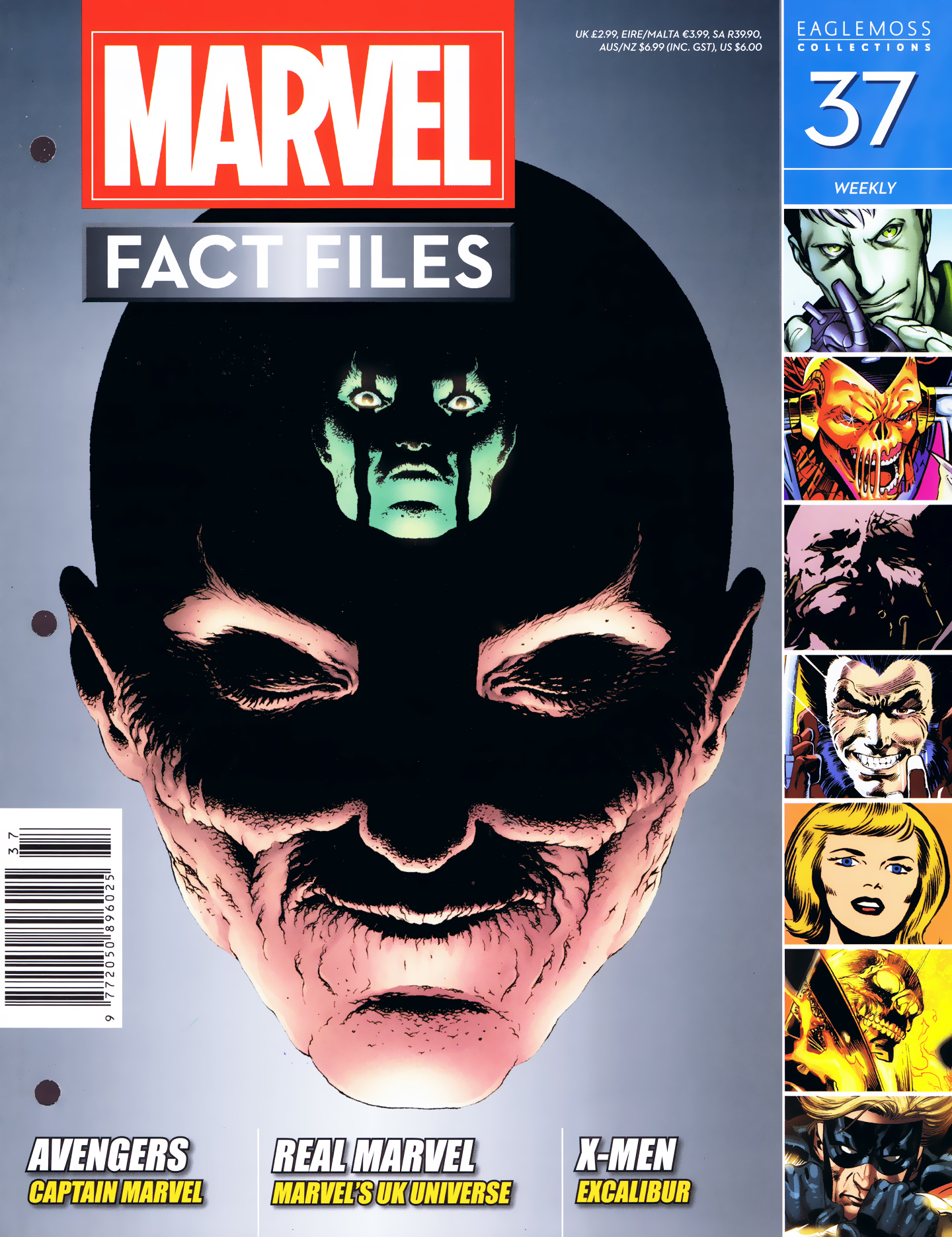 Marvel Fact Files 37 Page 1