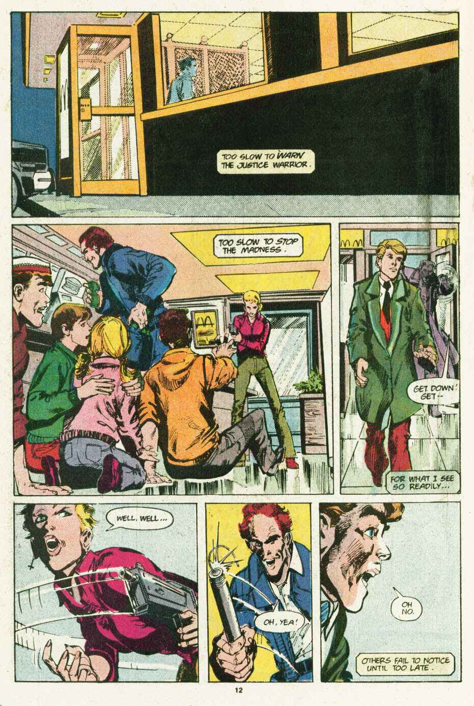Read online Justice (1986) comic -  Issue #12 - 13