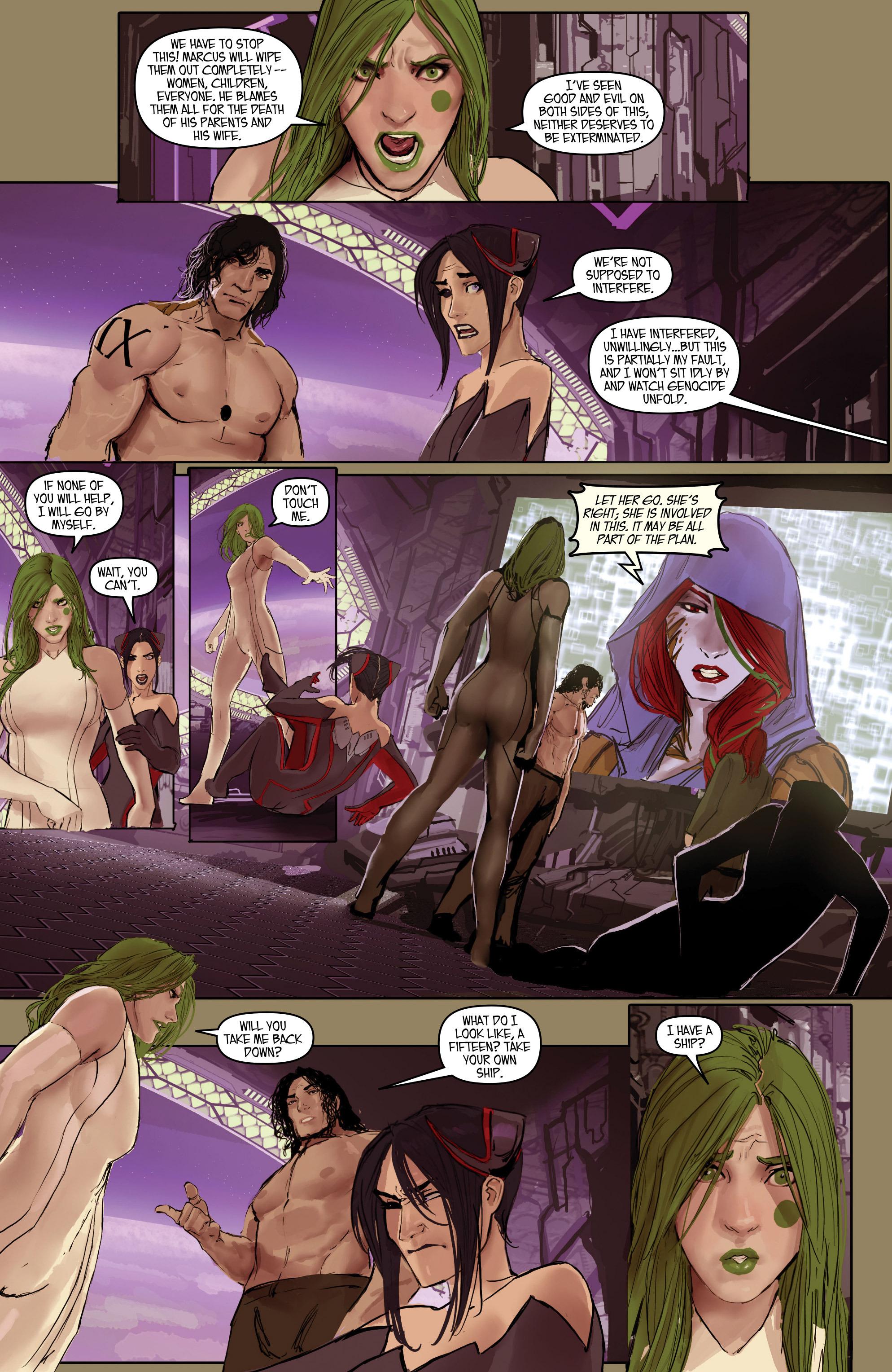 Read online Aphrodite IX (2013) comic -  Issue #Aphrodite IX (2013) _TPB 2 - 106