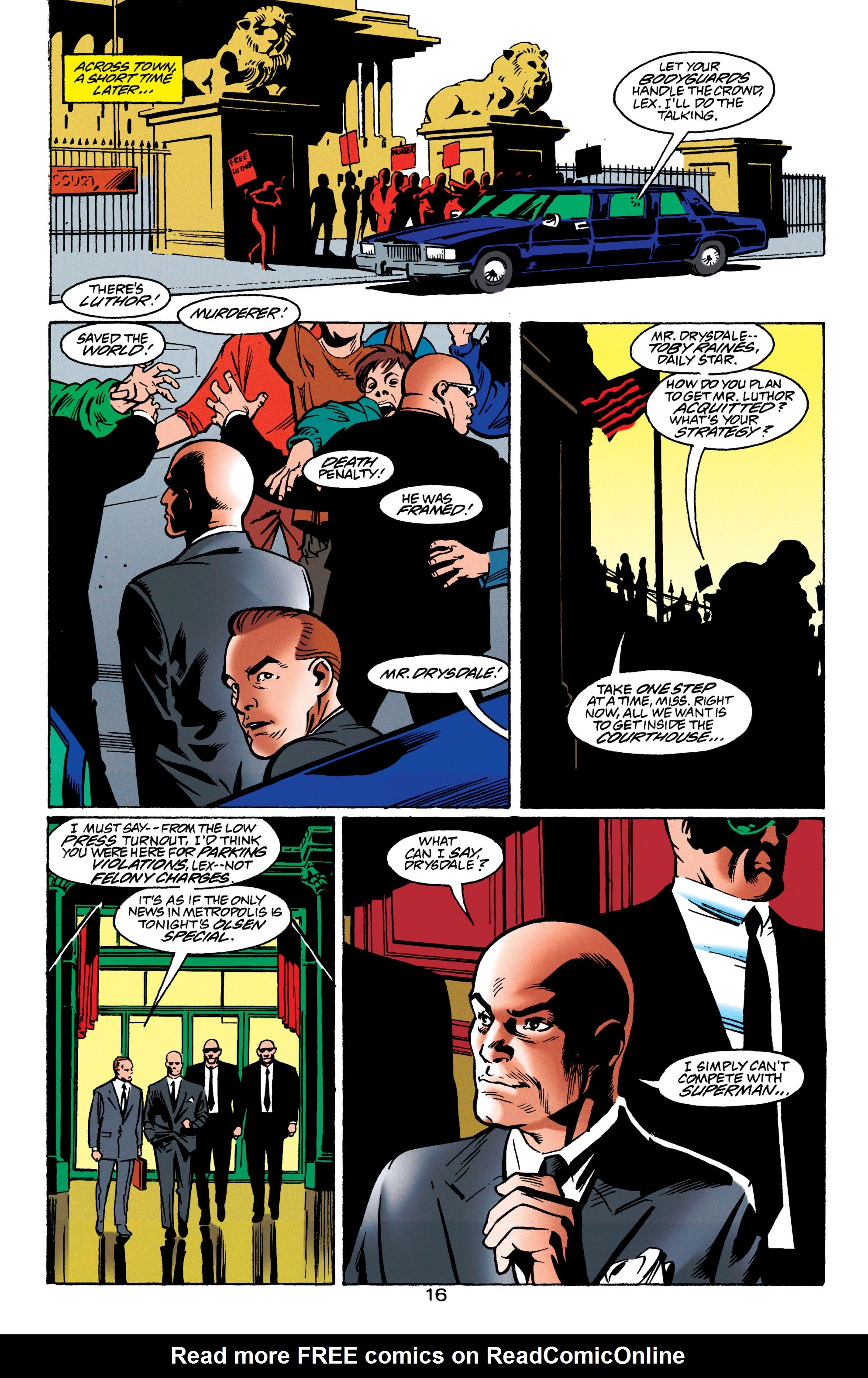 Adventures of Superman (1987) issue 550 - Page 17