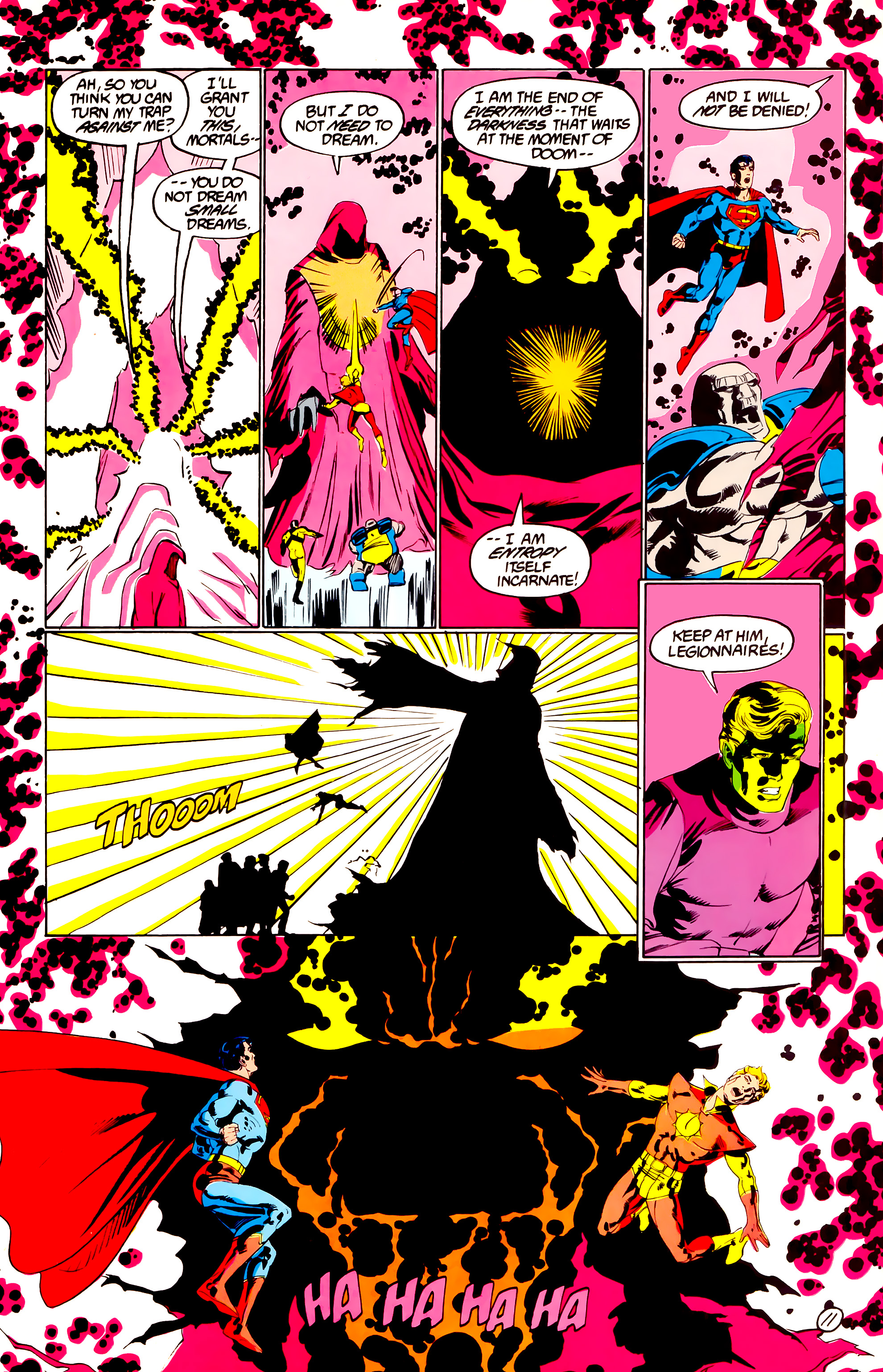Legion of Super-Heroes (1984) 38 Page 11