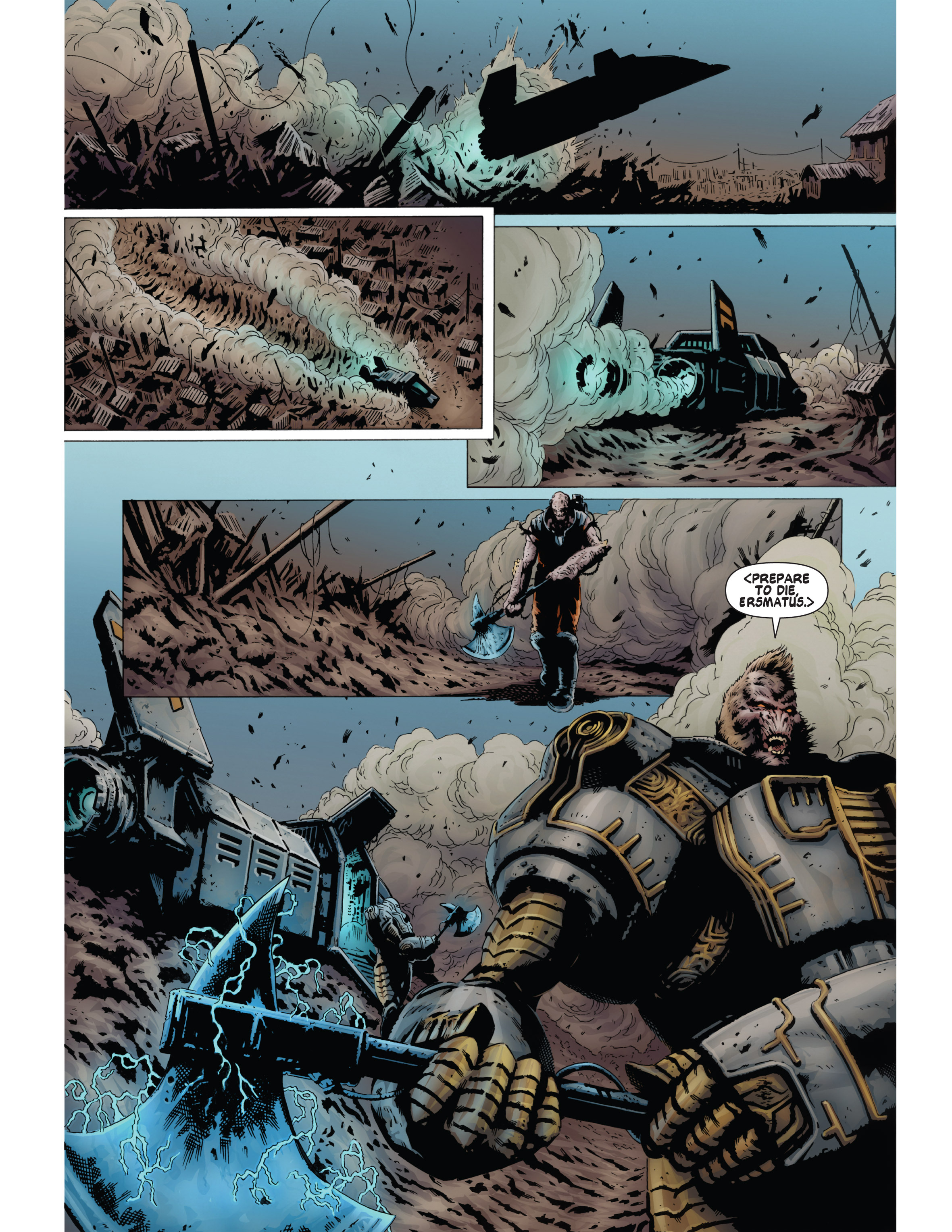 Read online Bad Planet comic -  Issue # TPB - 116